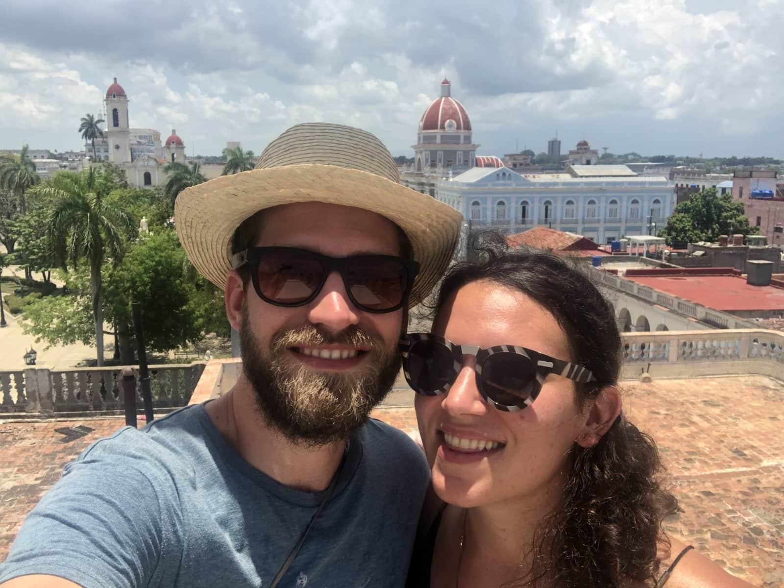 Johannes & Sarah from Panamá, Panama