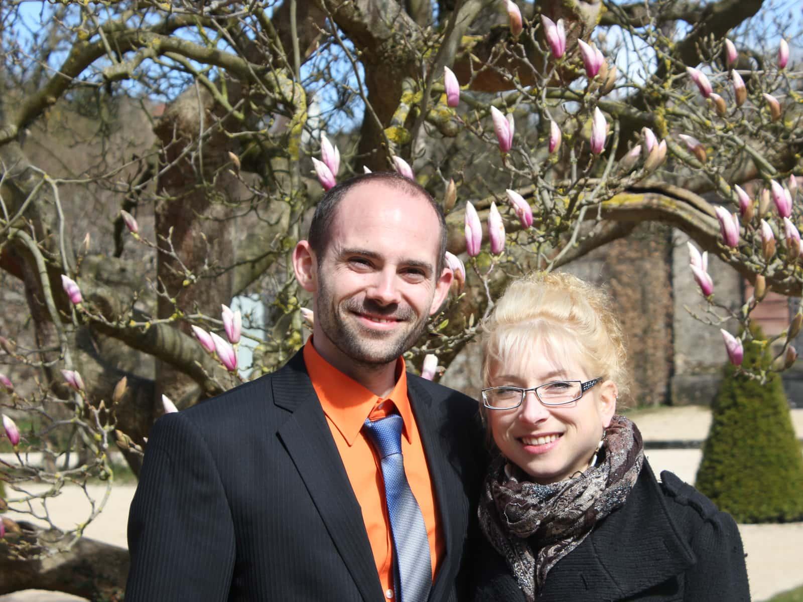 Martin & Mirjam from Würzburg, Germany