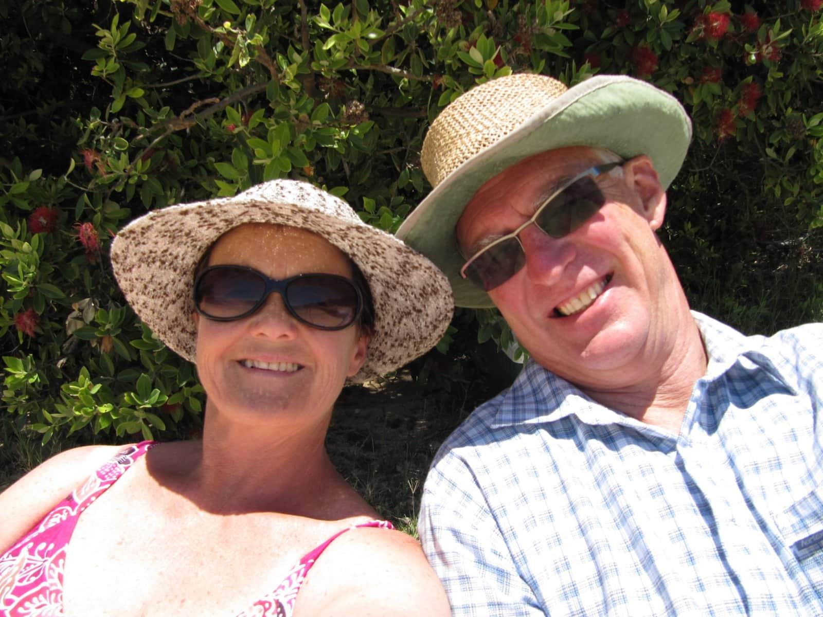 John & Jan from Nelson, New Zealand