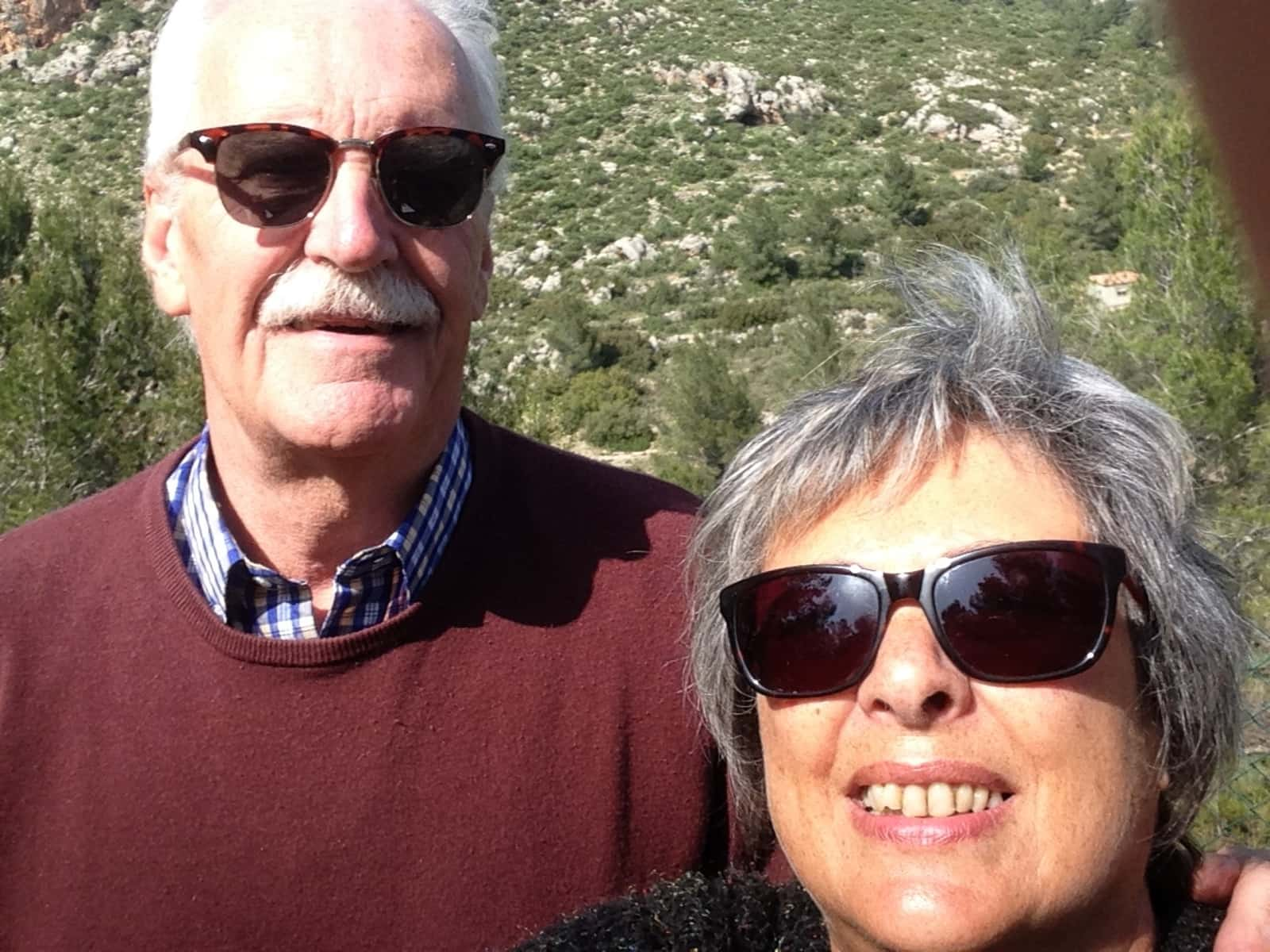 Judith & Mike from Lichfield, United Kingdom