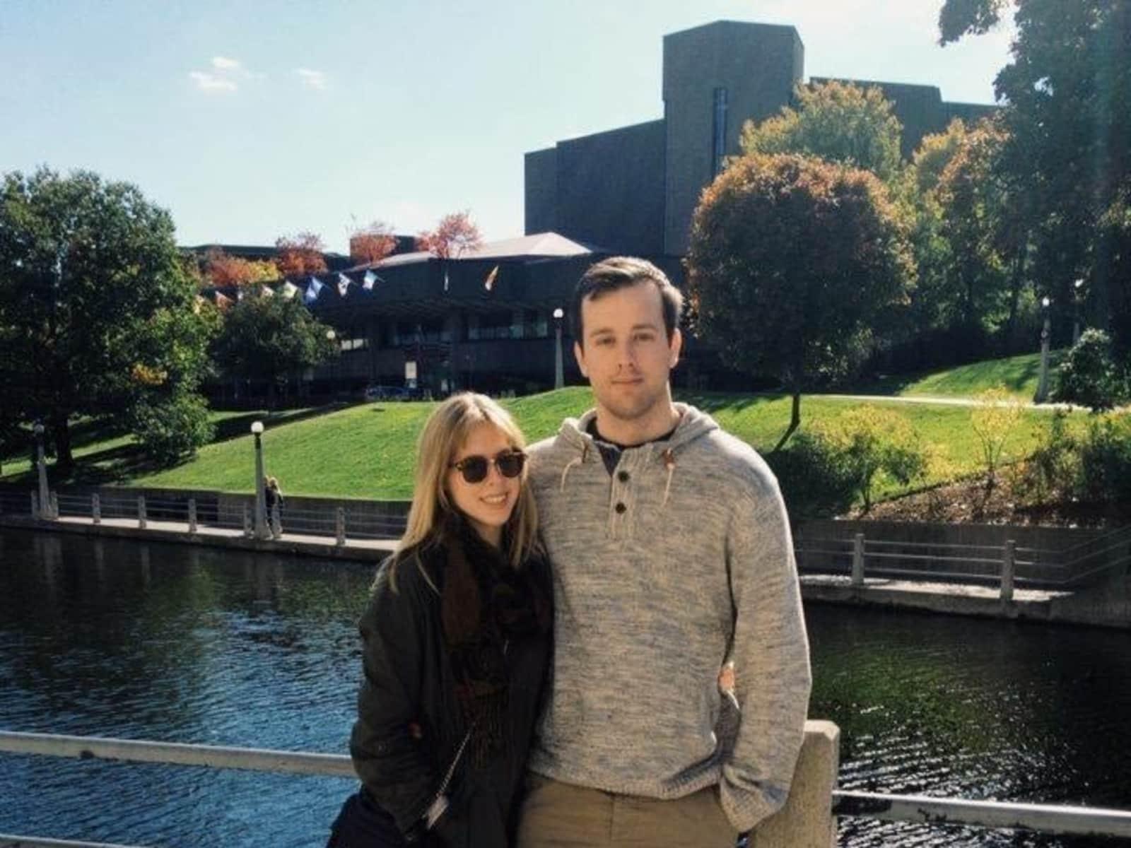 Marc & Danielle from Ottawa, Ontario, Canada