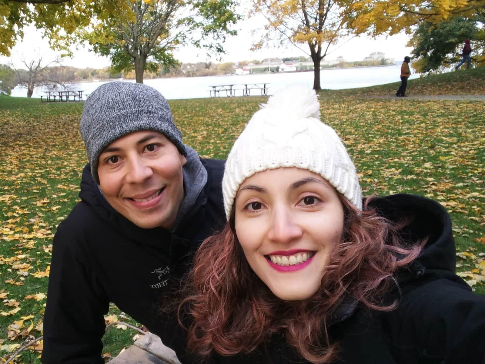 Luz & Paul from Toronto, Ontario, Canada