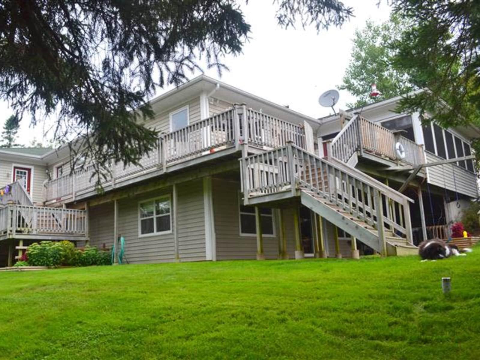 Housesitting assignment in Berwick, Nova Scotia, Canada