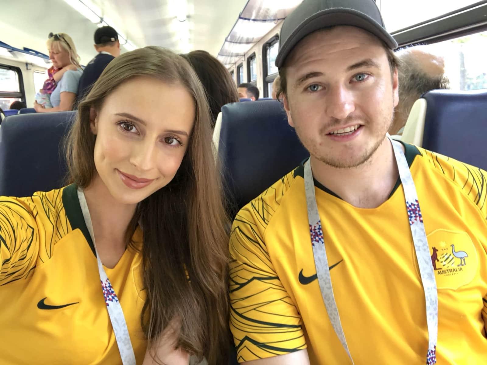 Luke & Jessica from Canberra, Australian Capital Territory, Australia