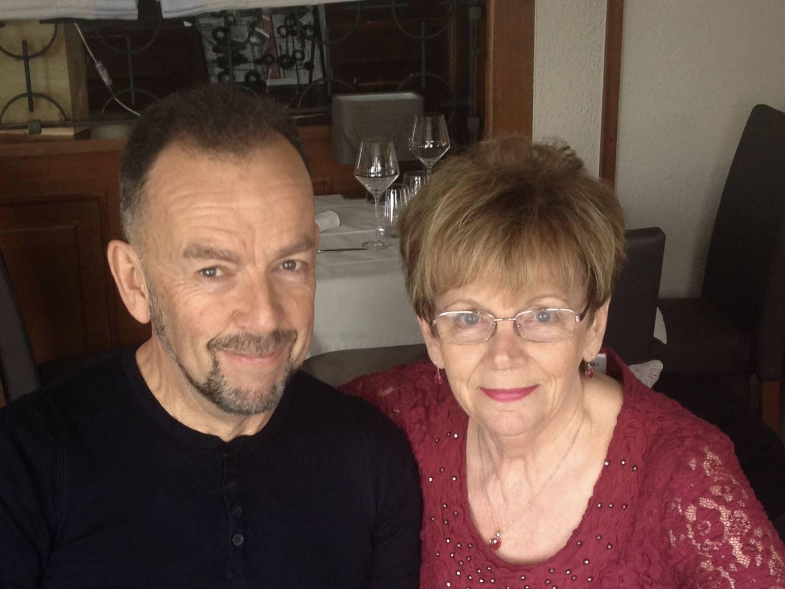 Pat & David from l'Escala, Spain