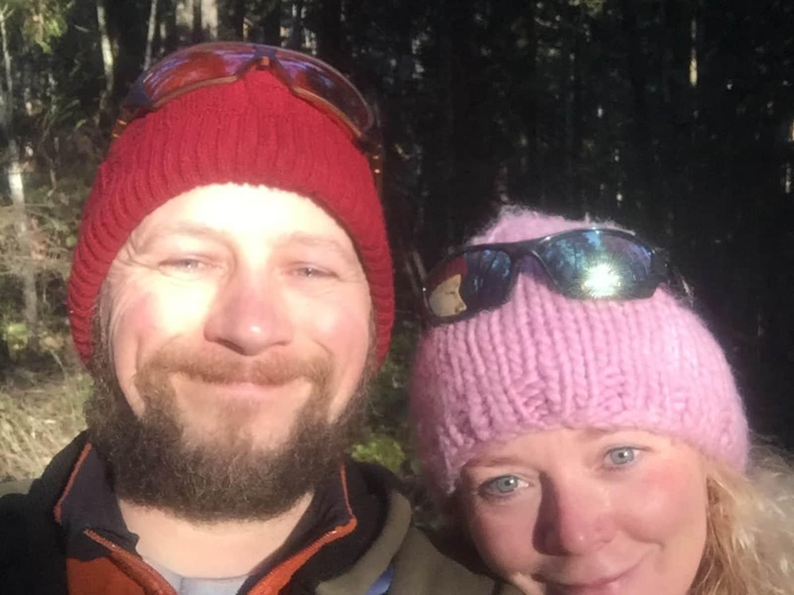 Tara & Timo from Creston, British Columbia, Canada