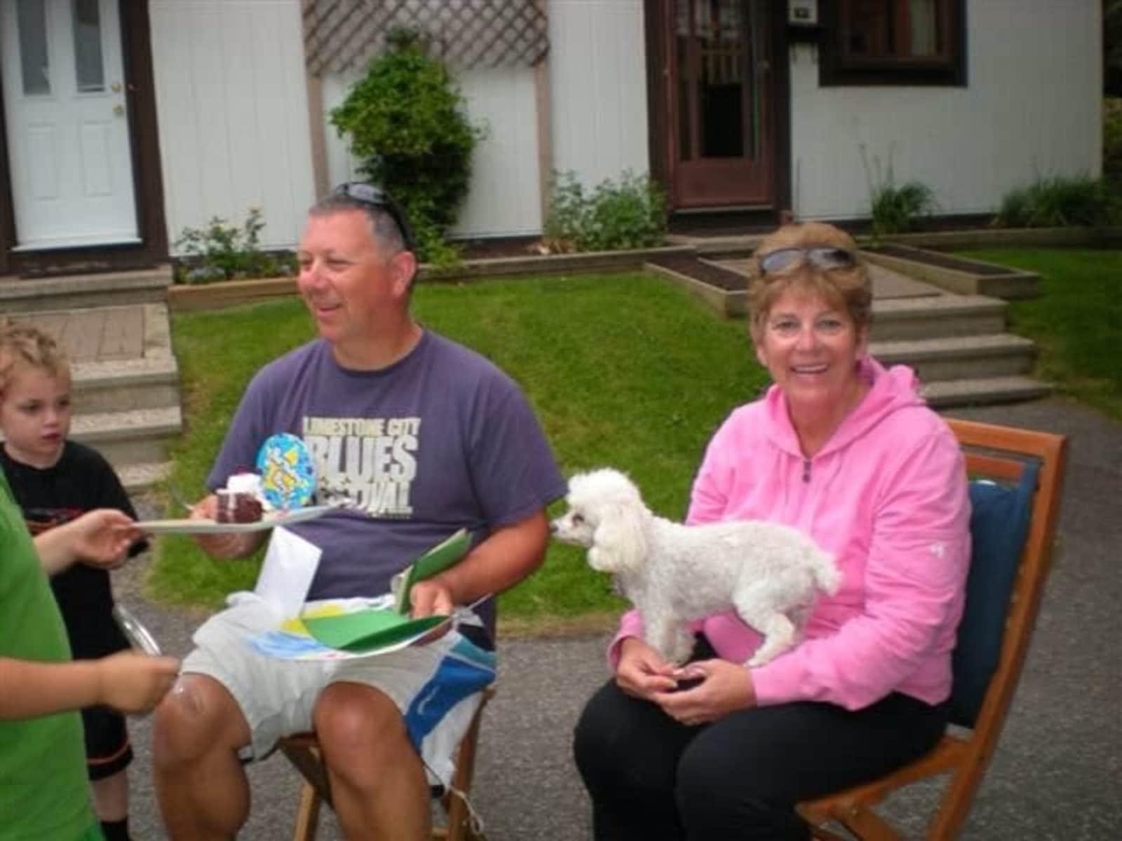 Debra & Phillip from Ottawa, Ontario, Canada