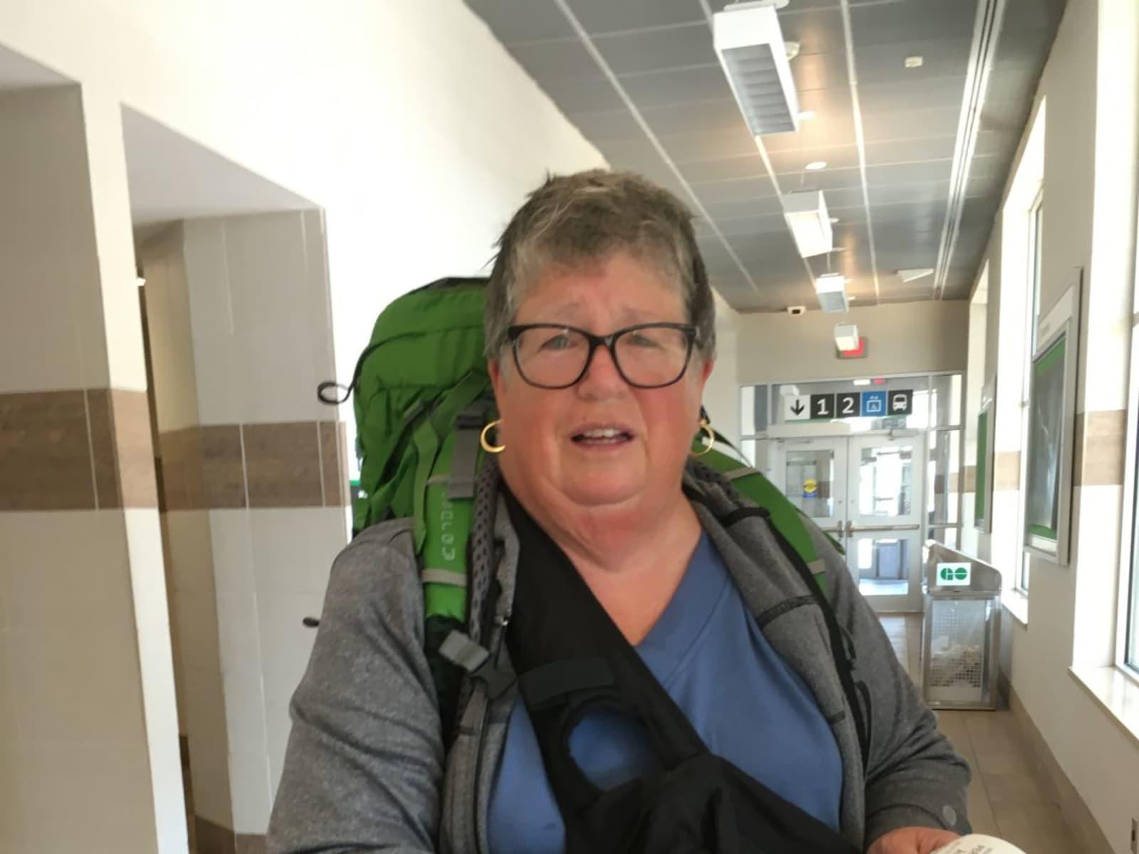 Geraldine from Sherbrooke, Quebec, Canada