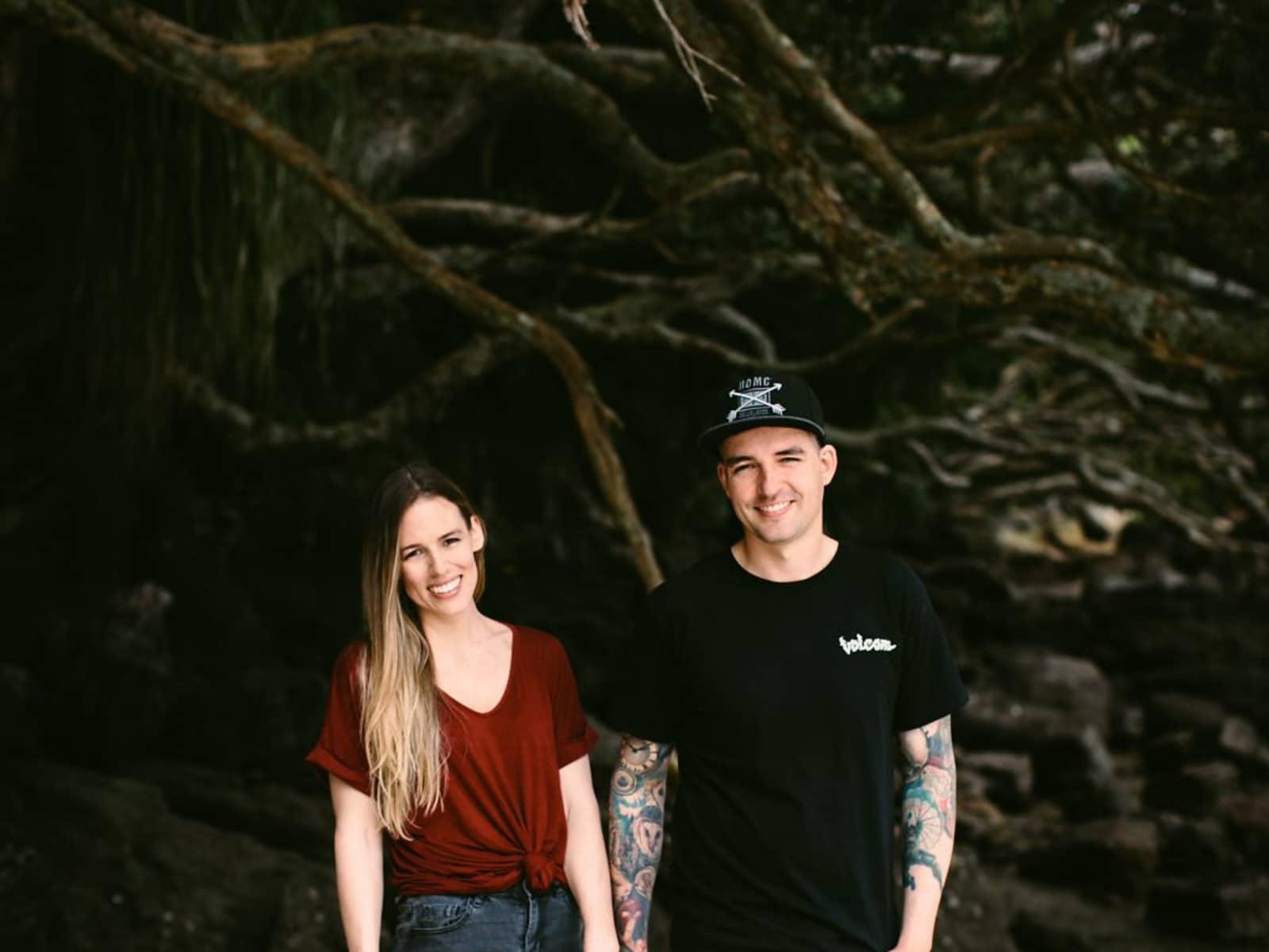 Shelley & Dan from Hamilton, New Zealand