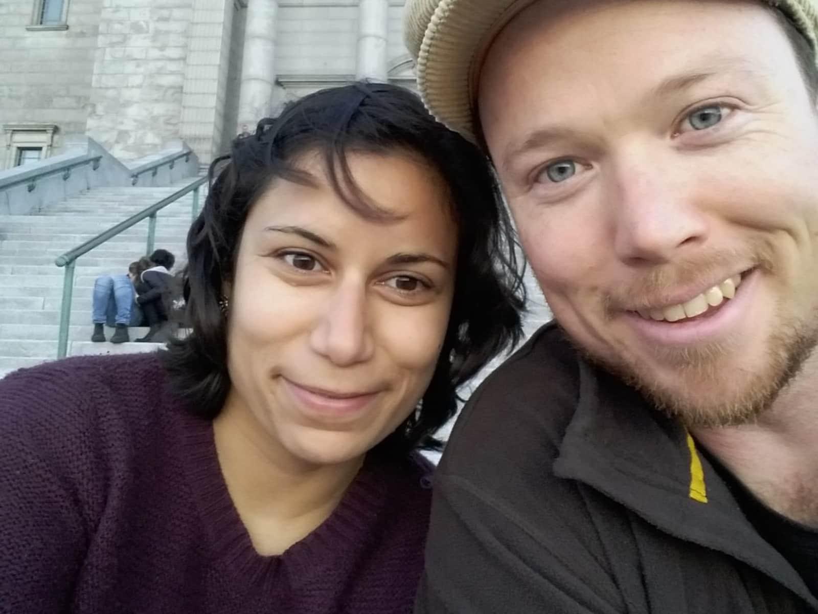 Asha & Joseph from Kitchener, Ontario, Canada
