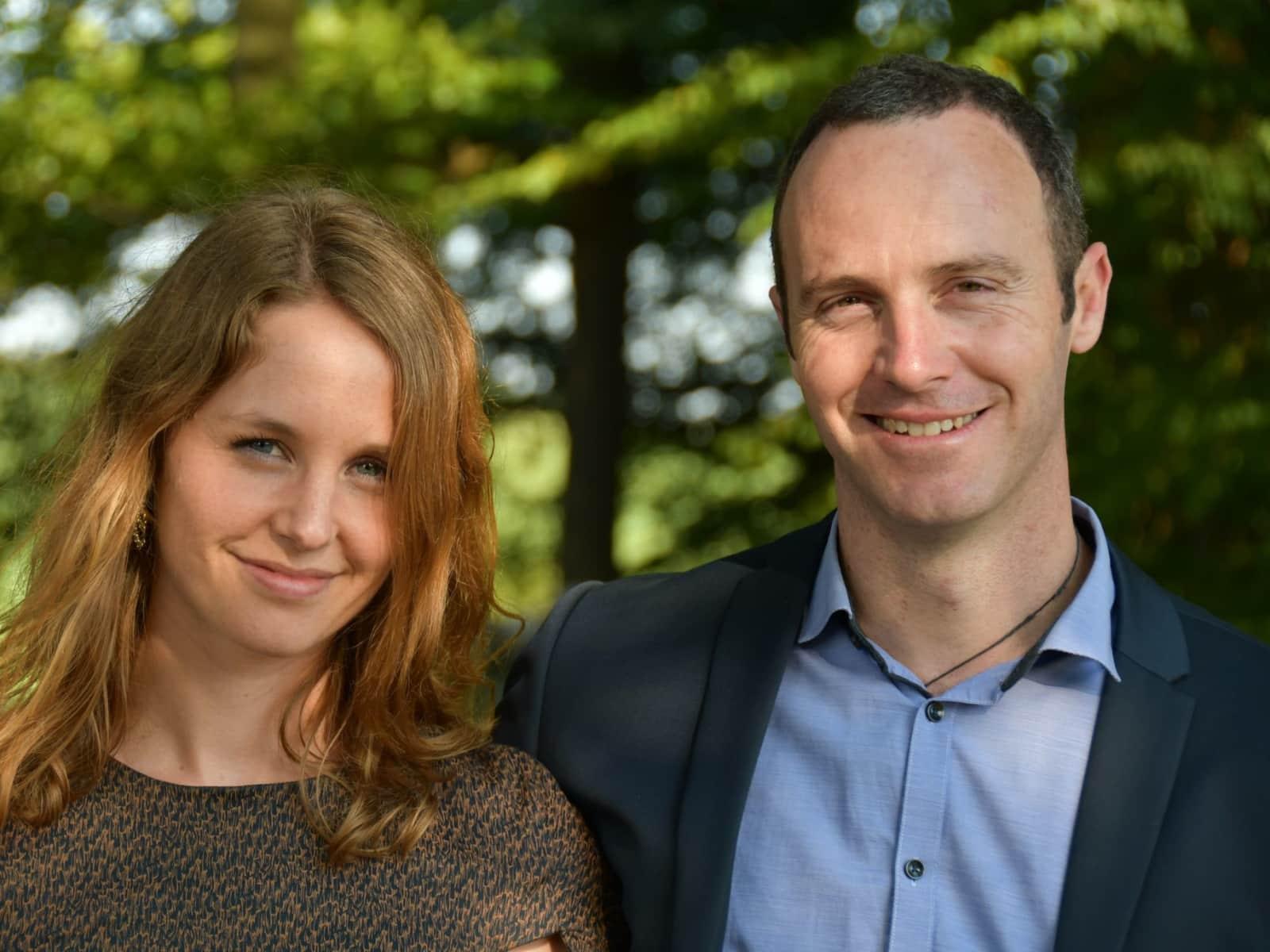 Julia & Kelvin from Wellington, New Zealand