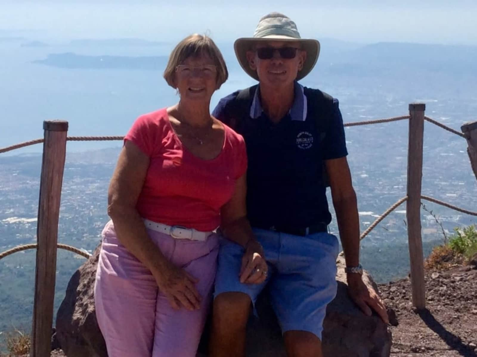 Jenni & John from Lubrín, Spain