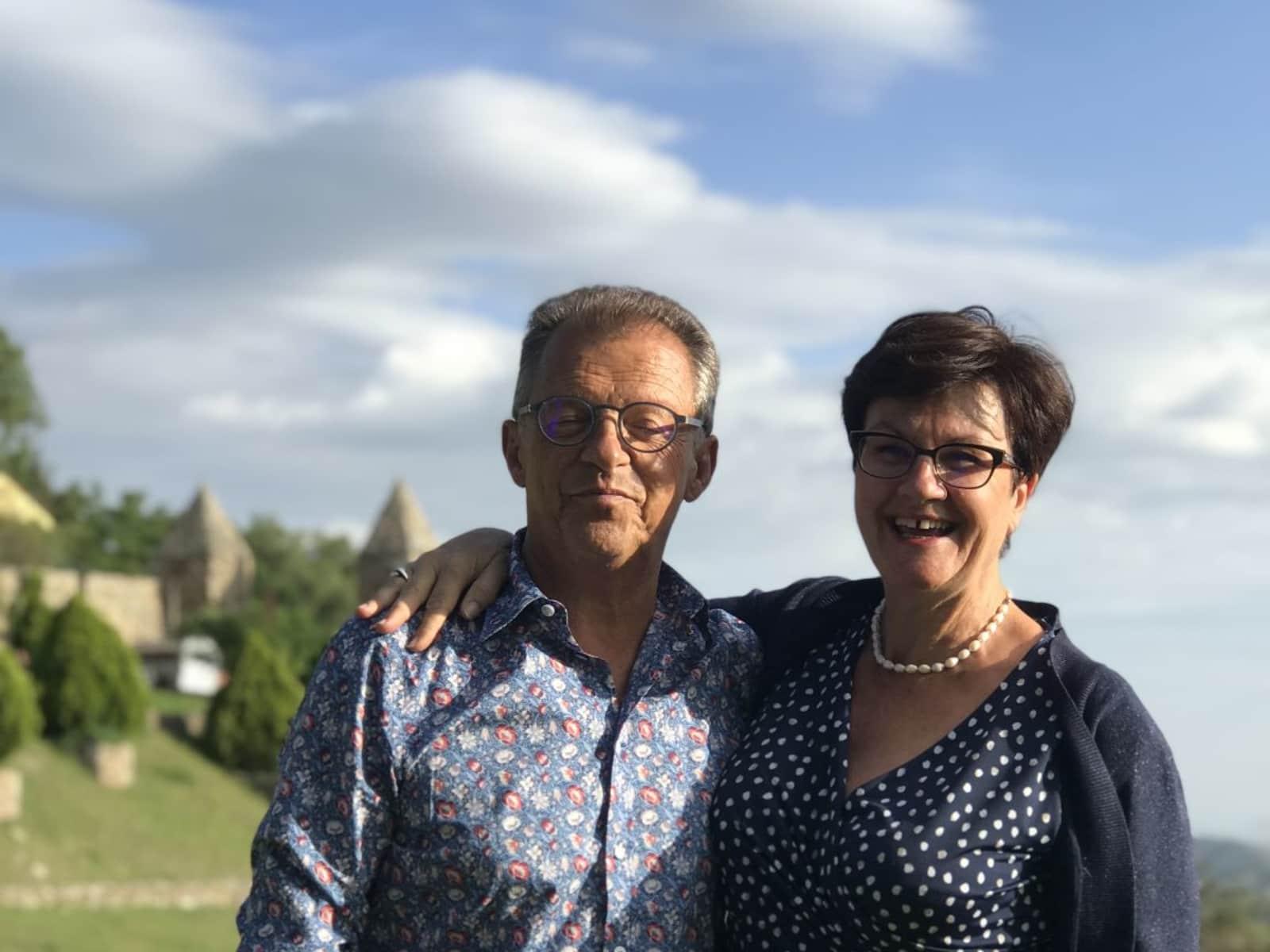 Christian & Christine from Paris, France