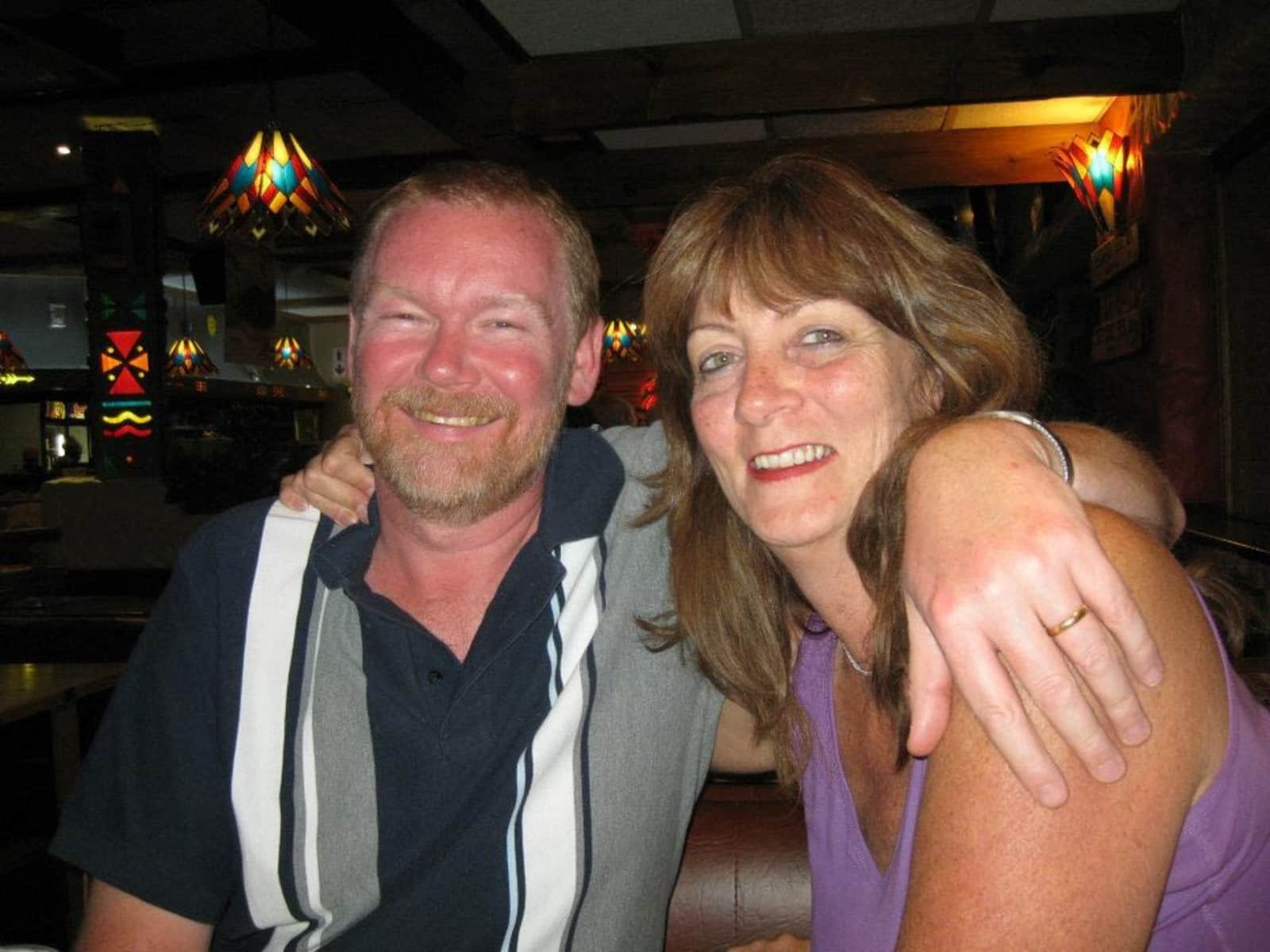 Jeanetta & Michael from Eastbourne, United Kingdom