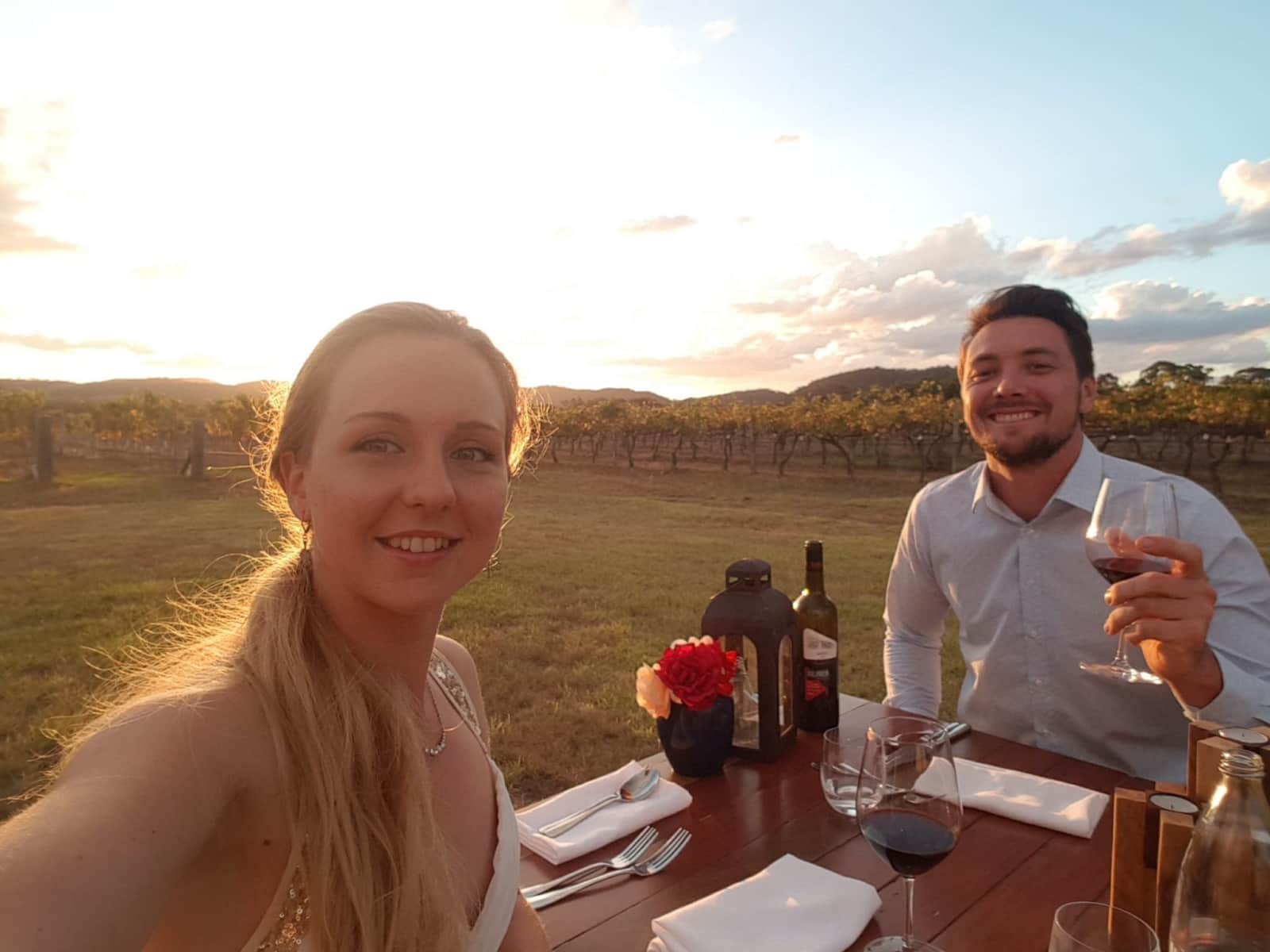 Jacquelyn and cory & Cory from Stanthorpe, Queensland, Australia