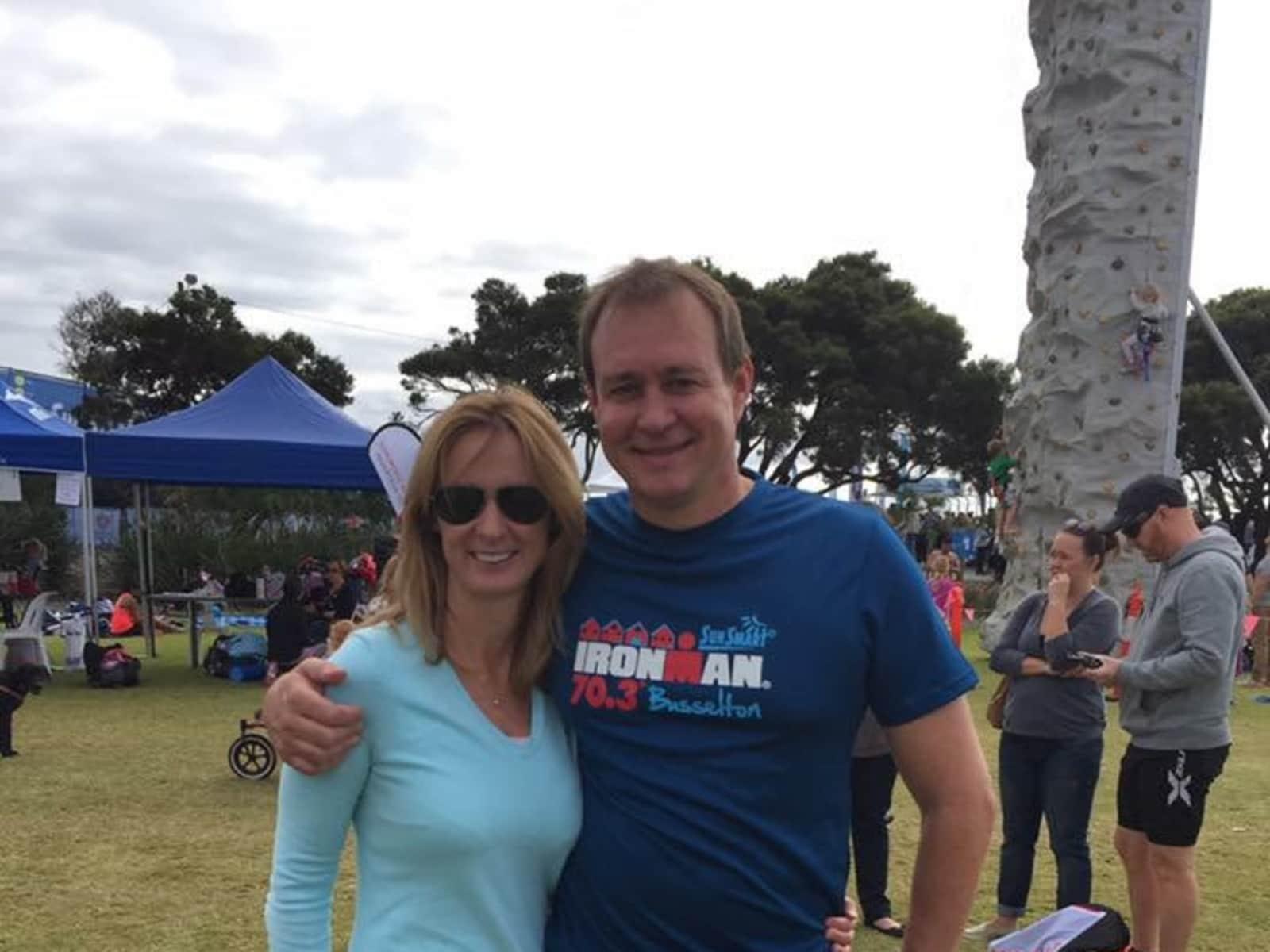 Kaylene & Aaron from Perth, Western Australia, Australia