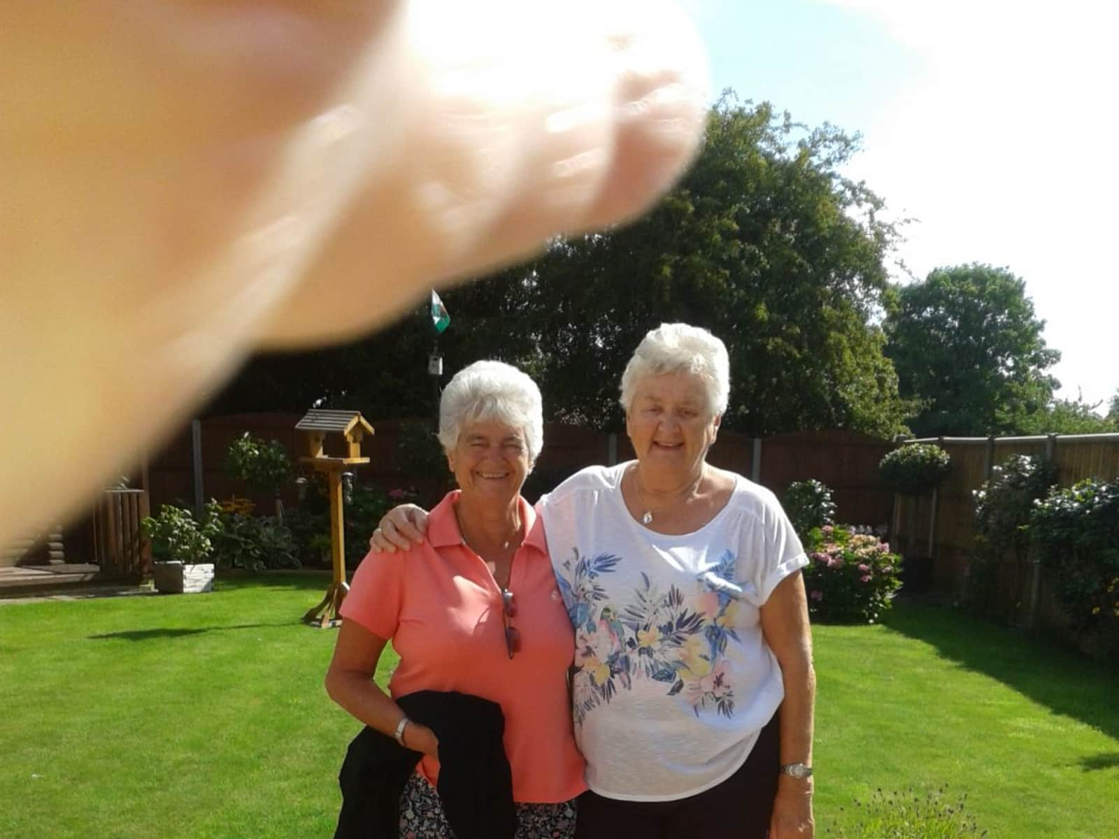 Mary & Liz from Alicante, Spain
