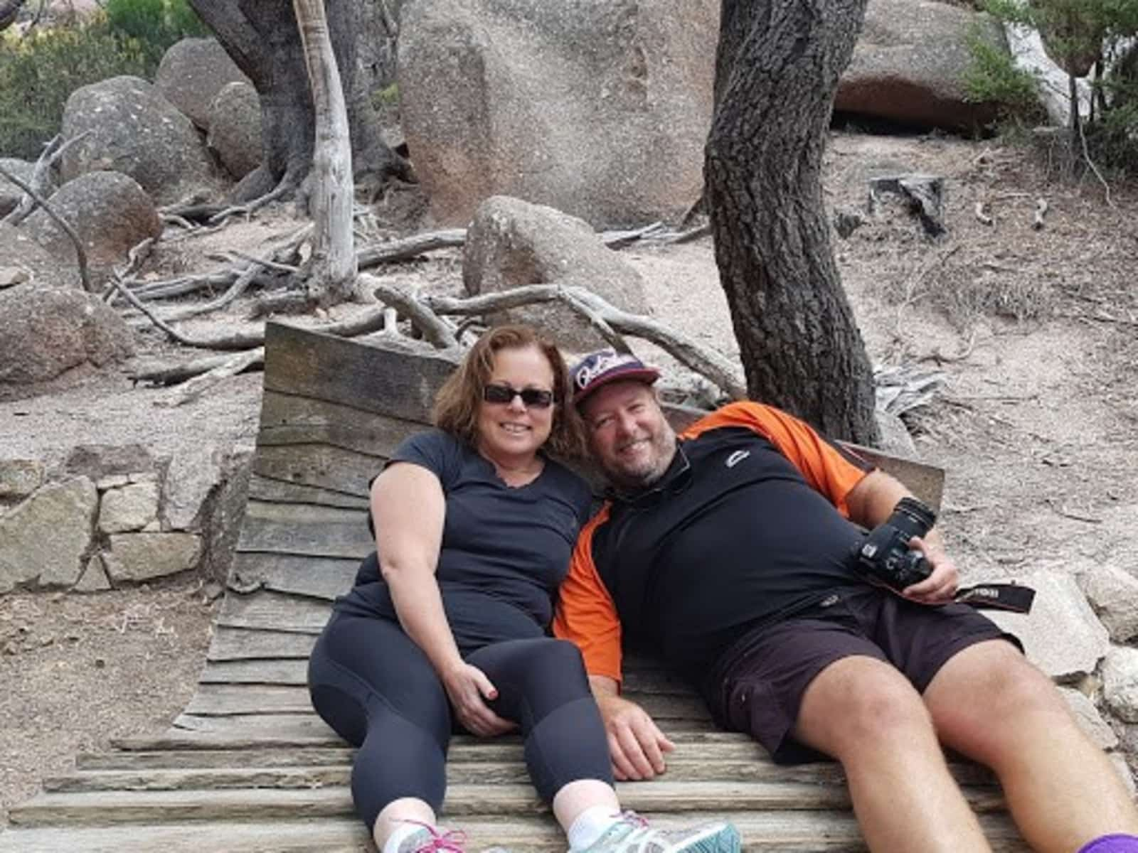 Sharon & Terry from Batemans Bay, New South Wales, Australia