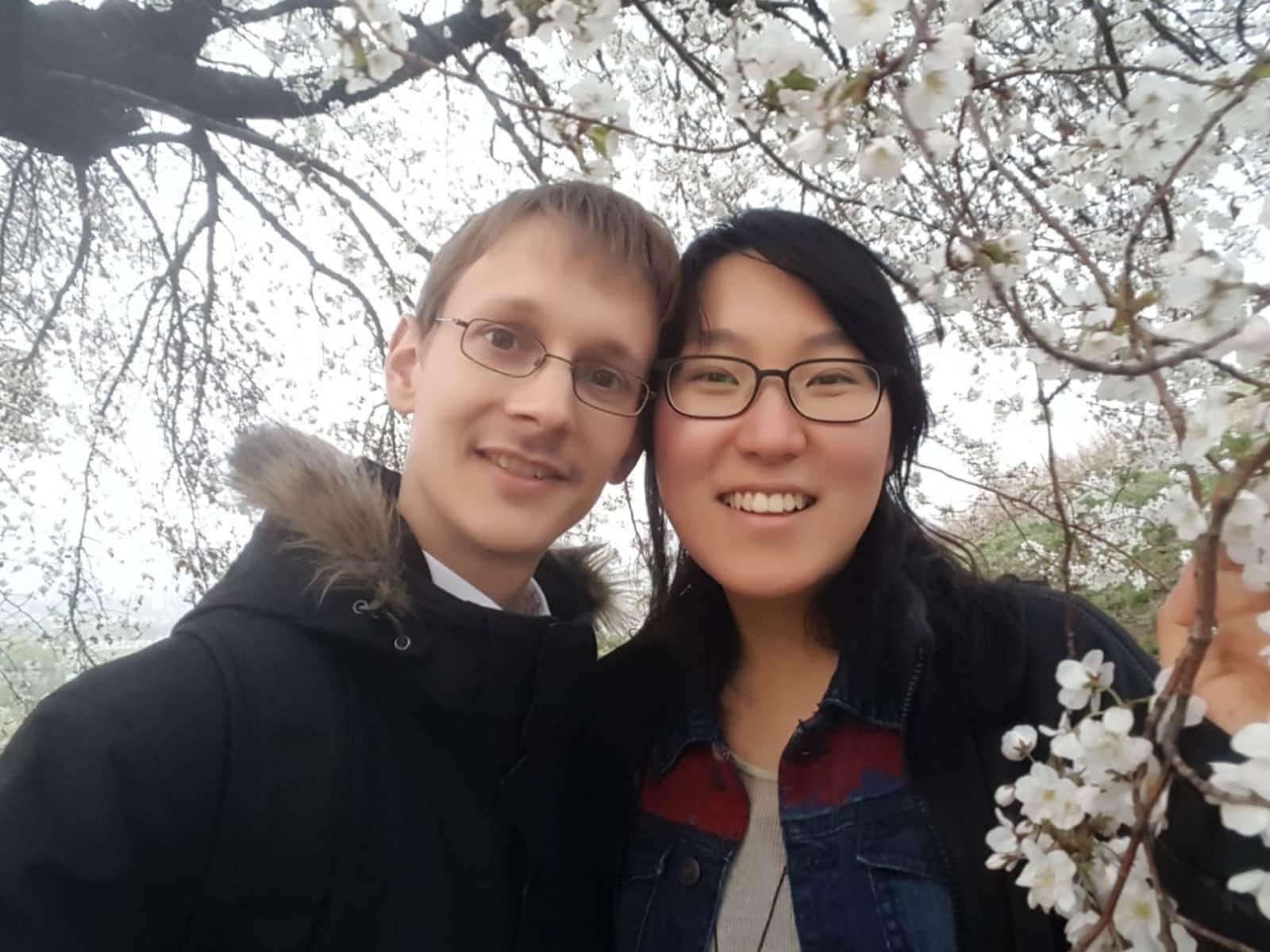 Friedemann & Sejeong from Seoul, South Korea