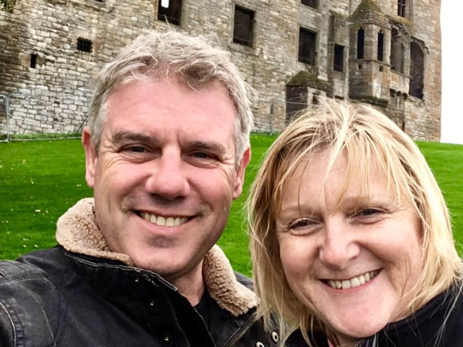 Mark & Jacqui from Oxford, United Kingdom