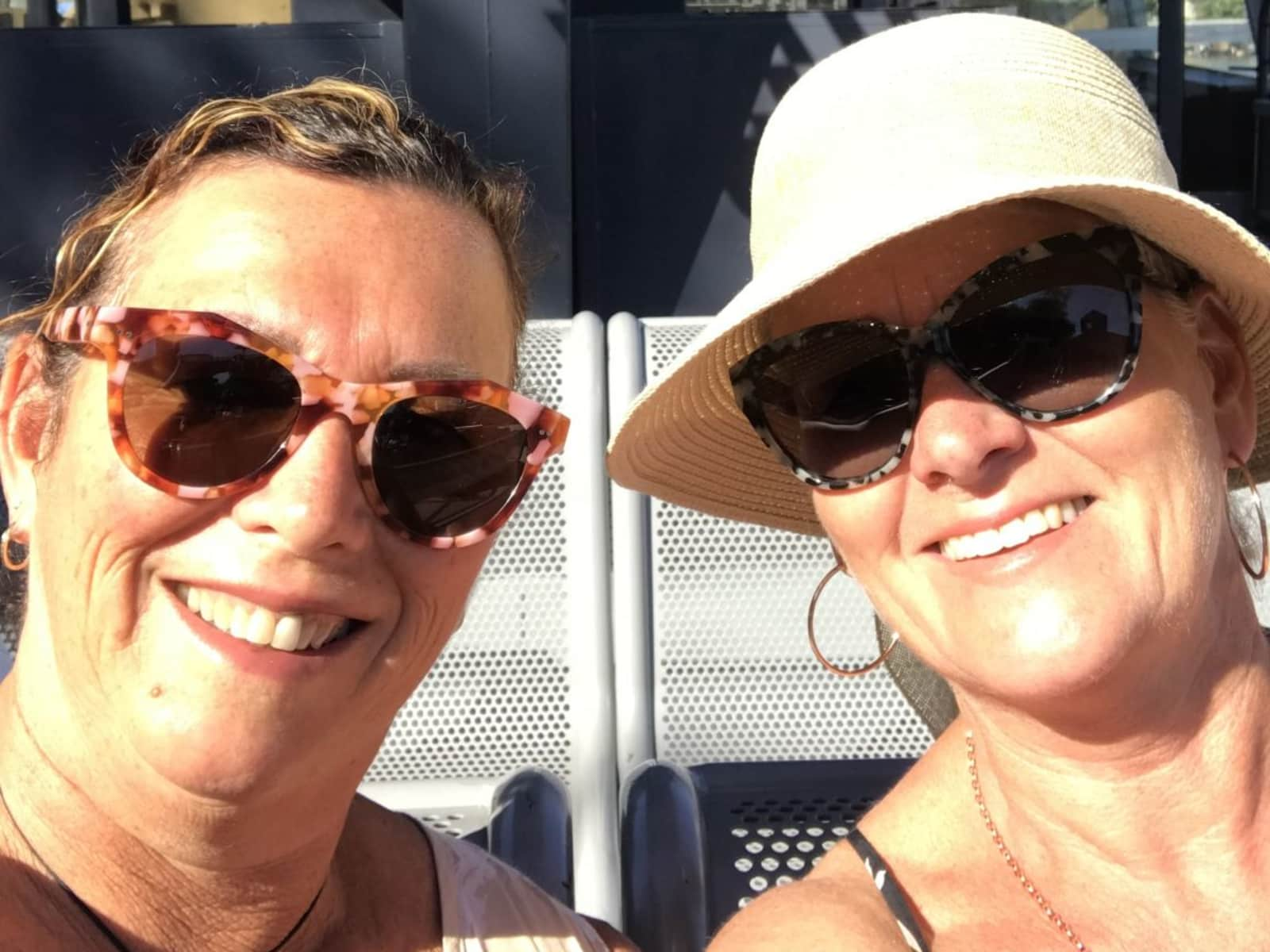Leanne & Karen from Whangaparaoa, New Zealand