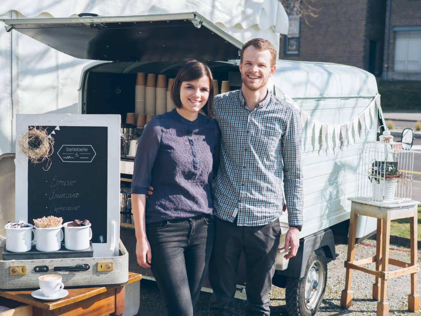 Matthias & Bettina from Degersheim, Switzerland
