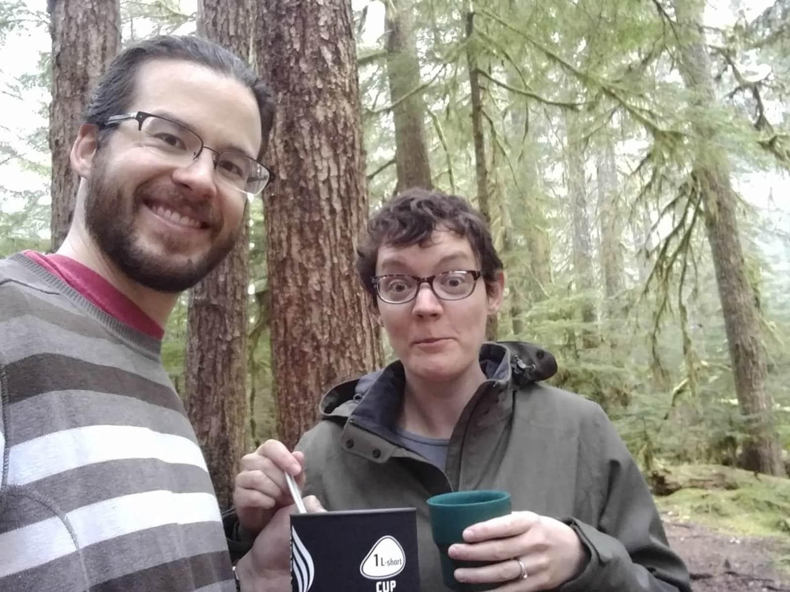 Chris & Joelle from Seattle, Washington, United States