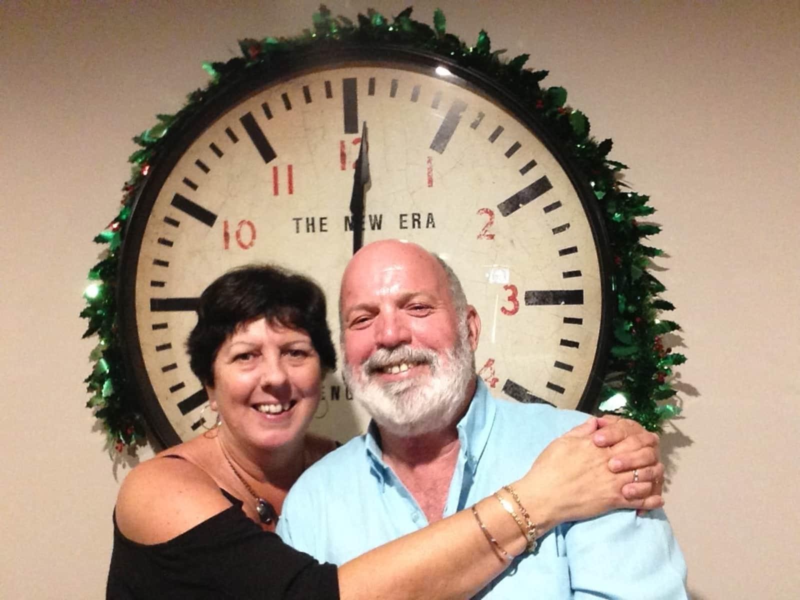Lesley & Lew from Perth, Western Australia, Australia