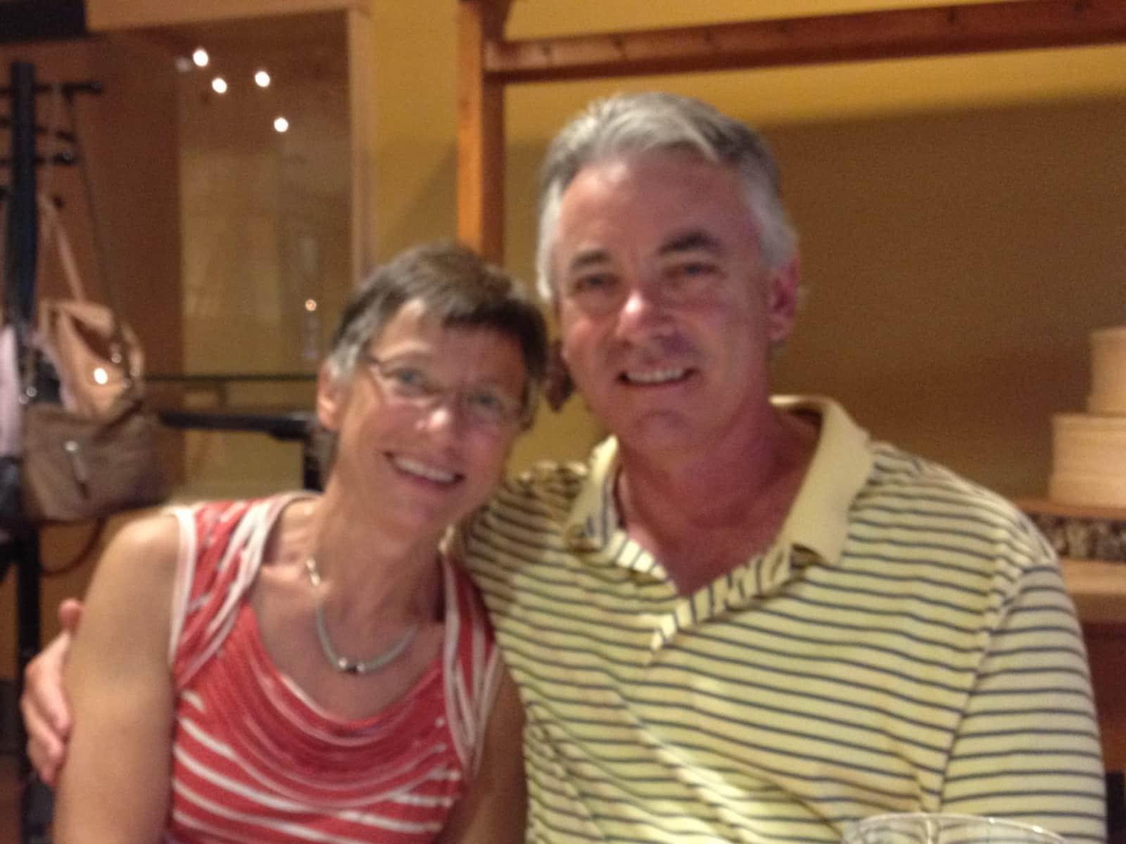 Christine & Andrew from Adelaide, South Australia, Australia