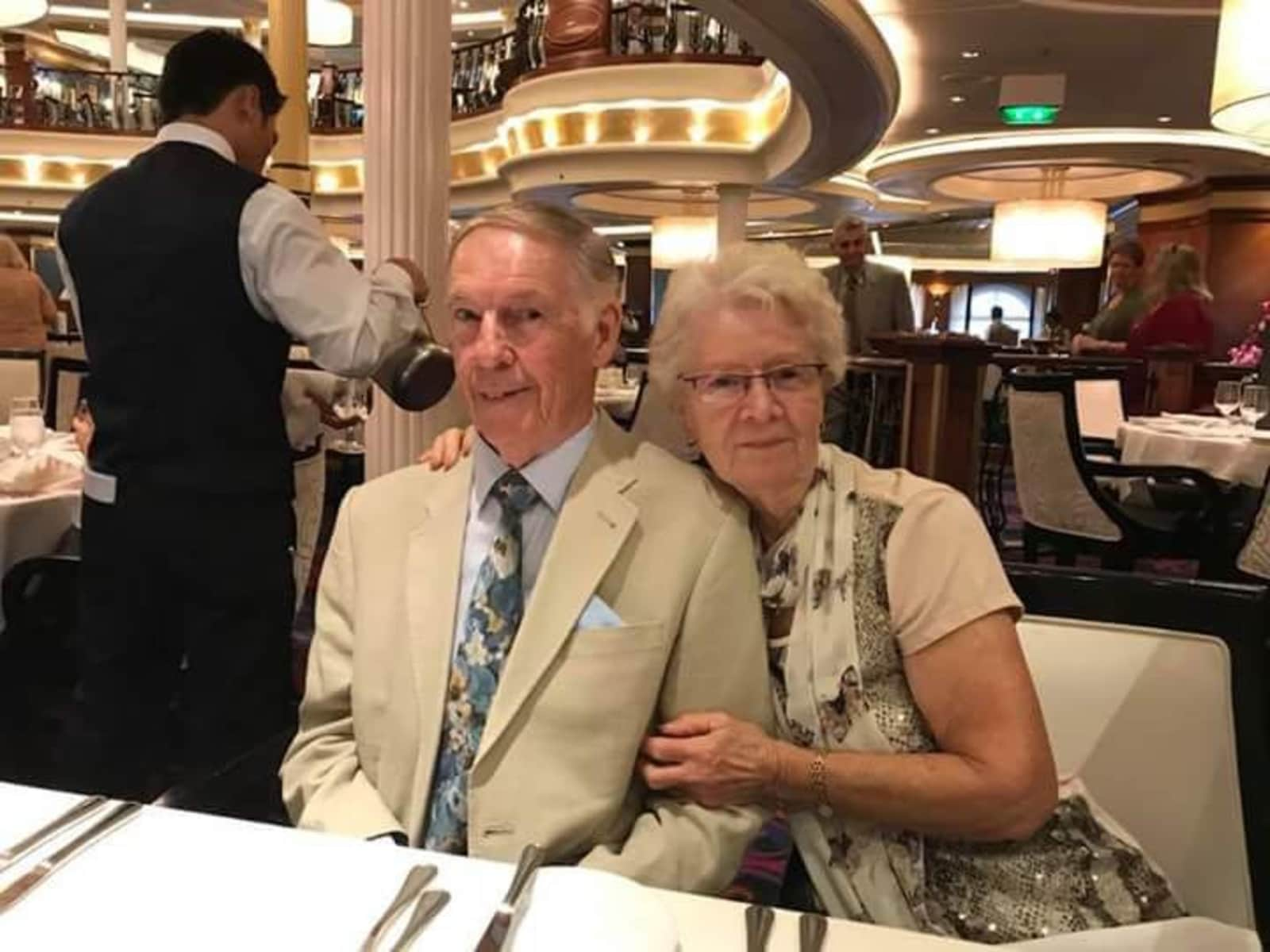 Douglas & Kathy from Christchurch, New Zealand