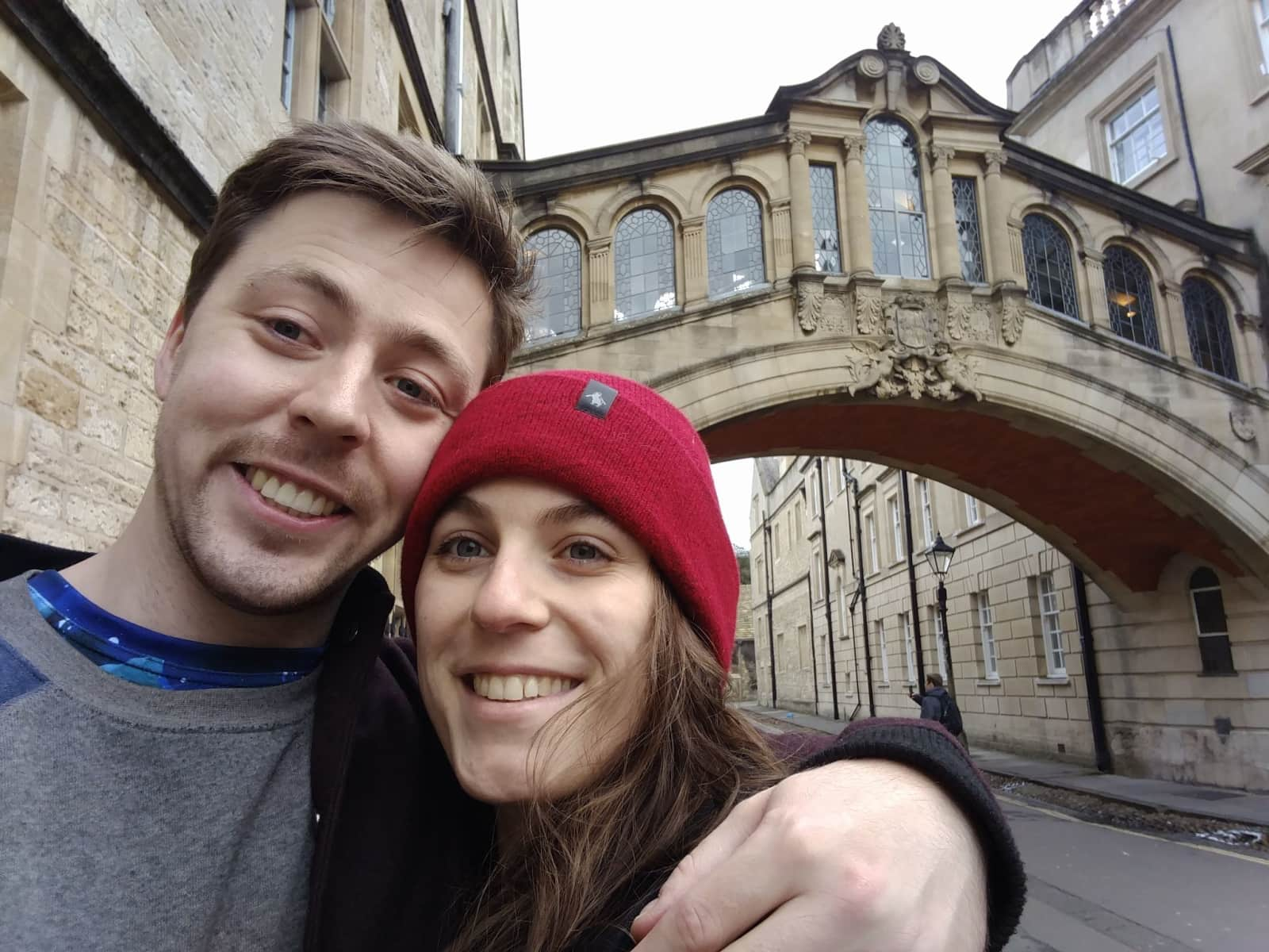 Romy & Andrew from Oxford, United Kingdom