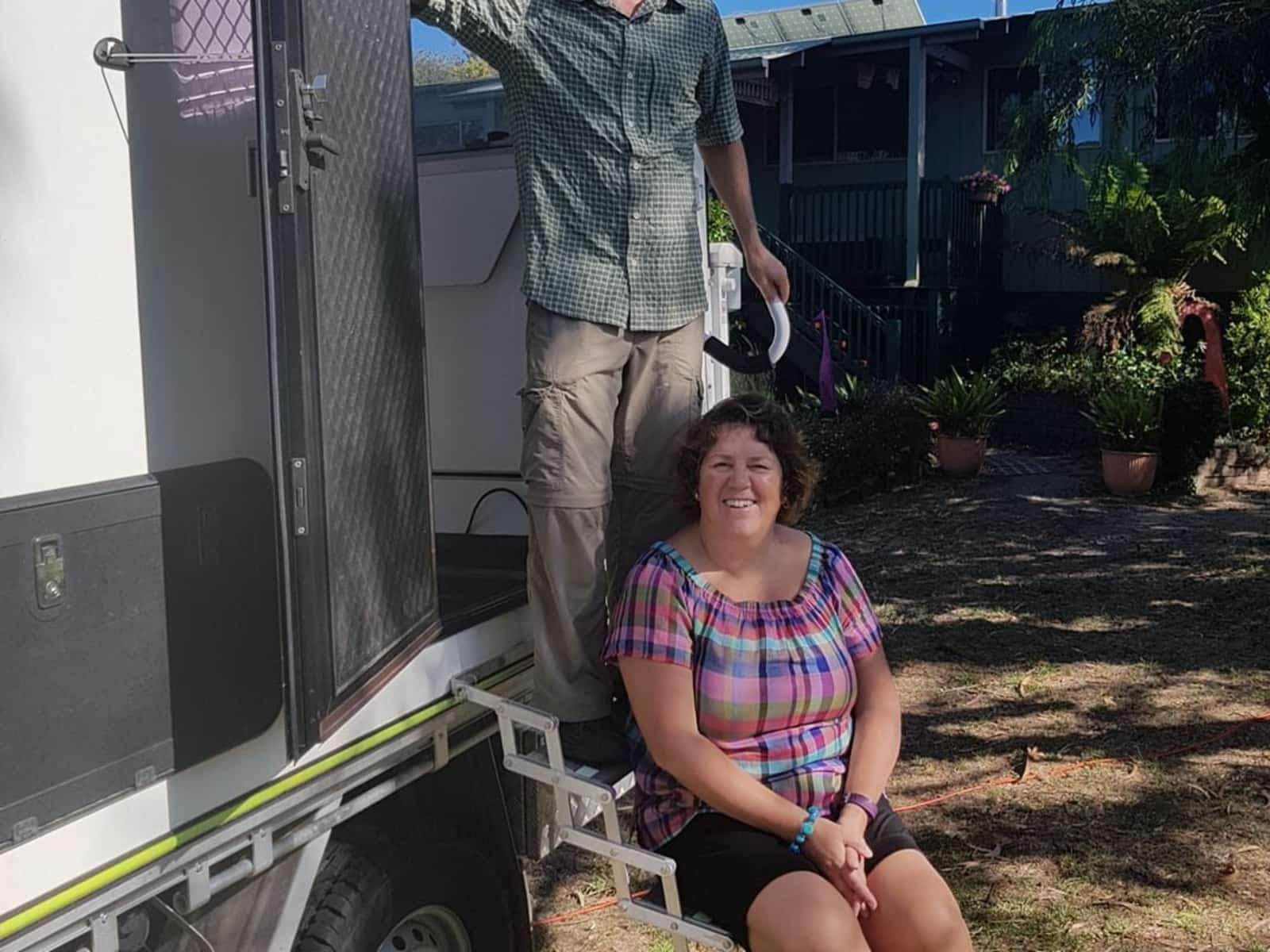 Mark & Rolanda from Waitakere, New Zealand