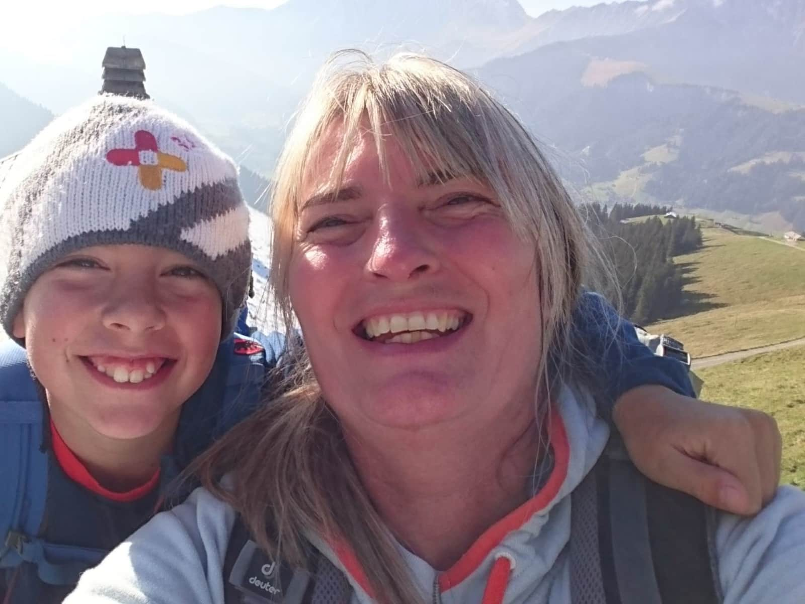 Sandra & Steven from Adelboden, Switzerland