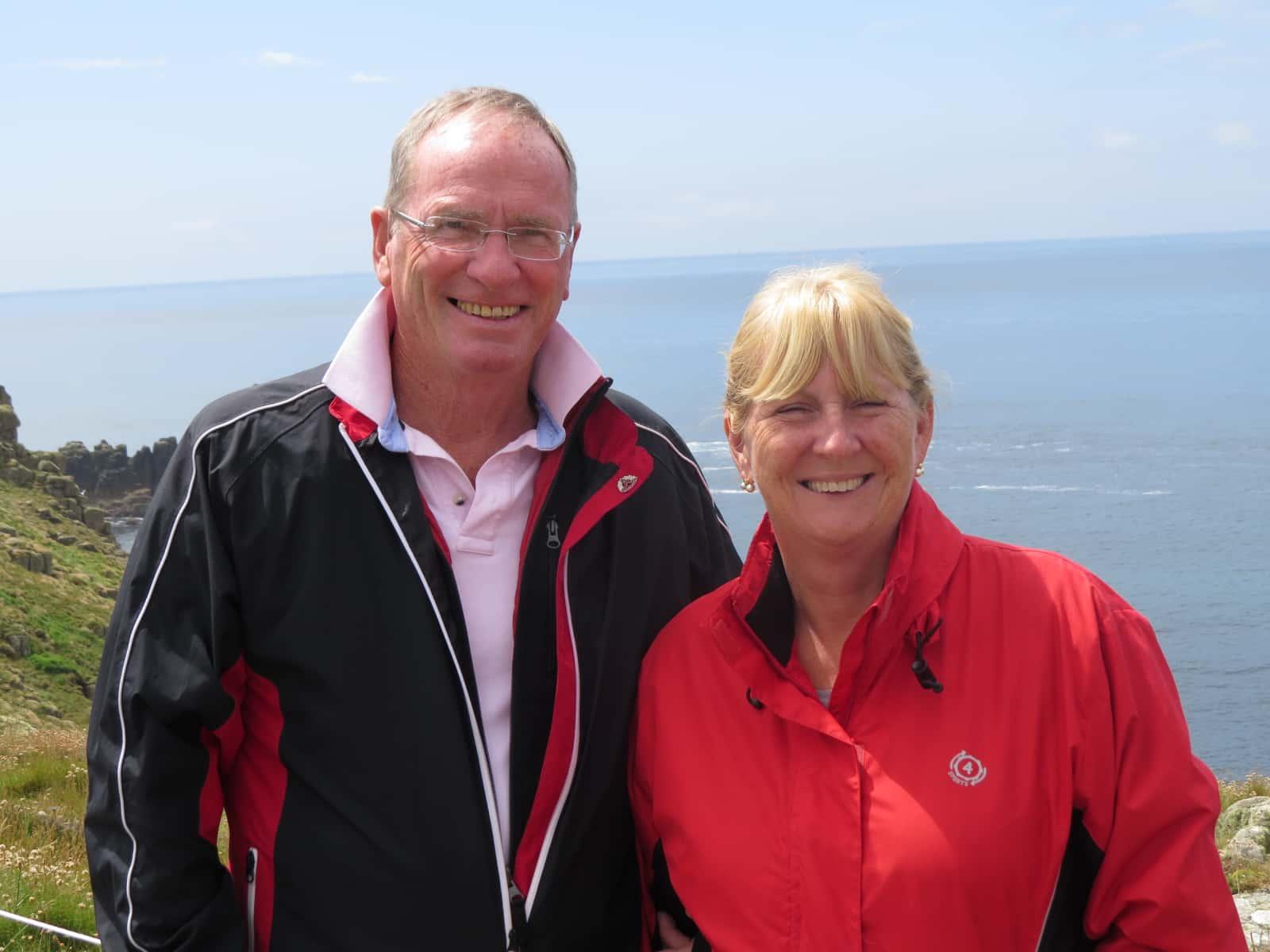 Amanda & Peter from Melbourne, Victoria, Australia