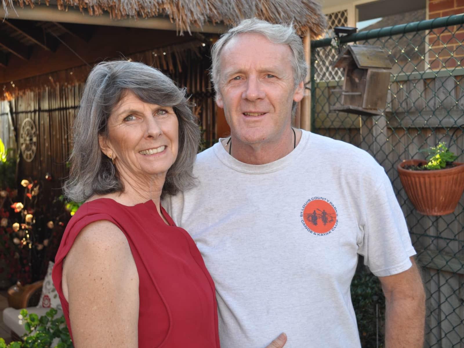 Robert & Barbara from Perth, Western Australia, Australia