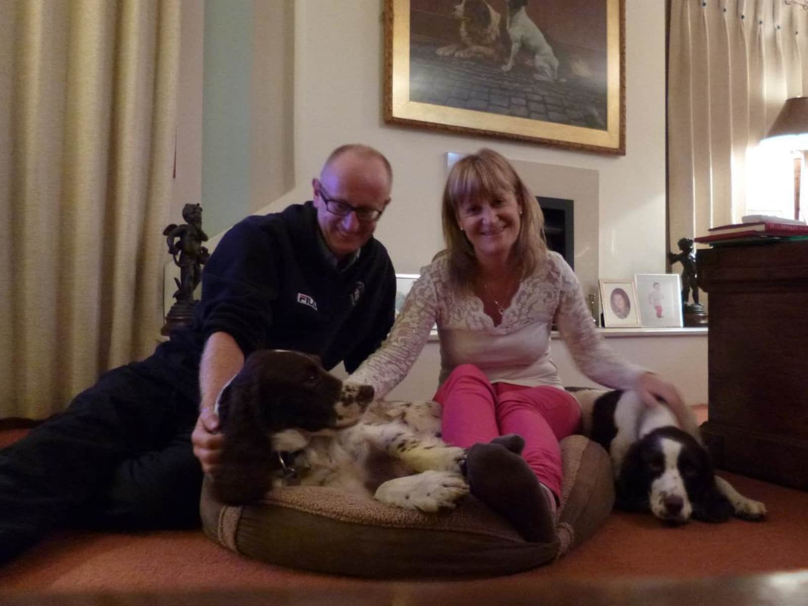 Sally-anne & Rupert from Tring, United Kingdom