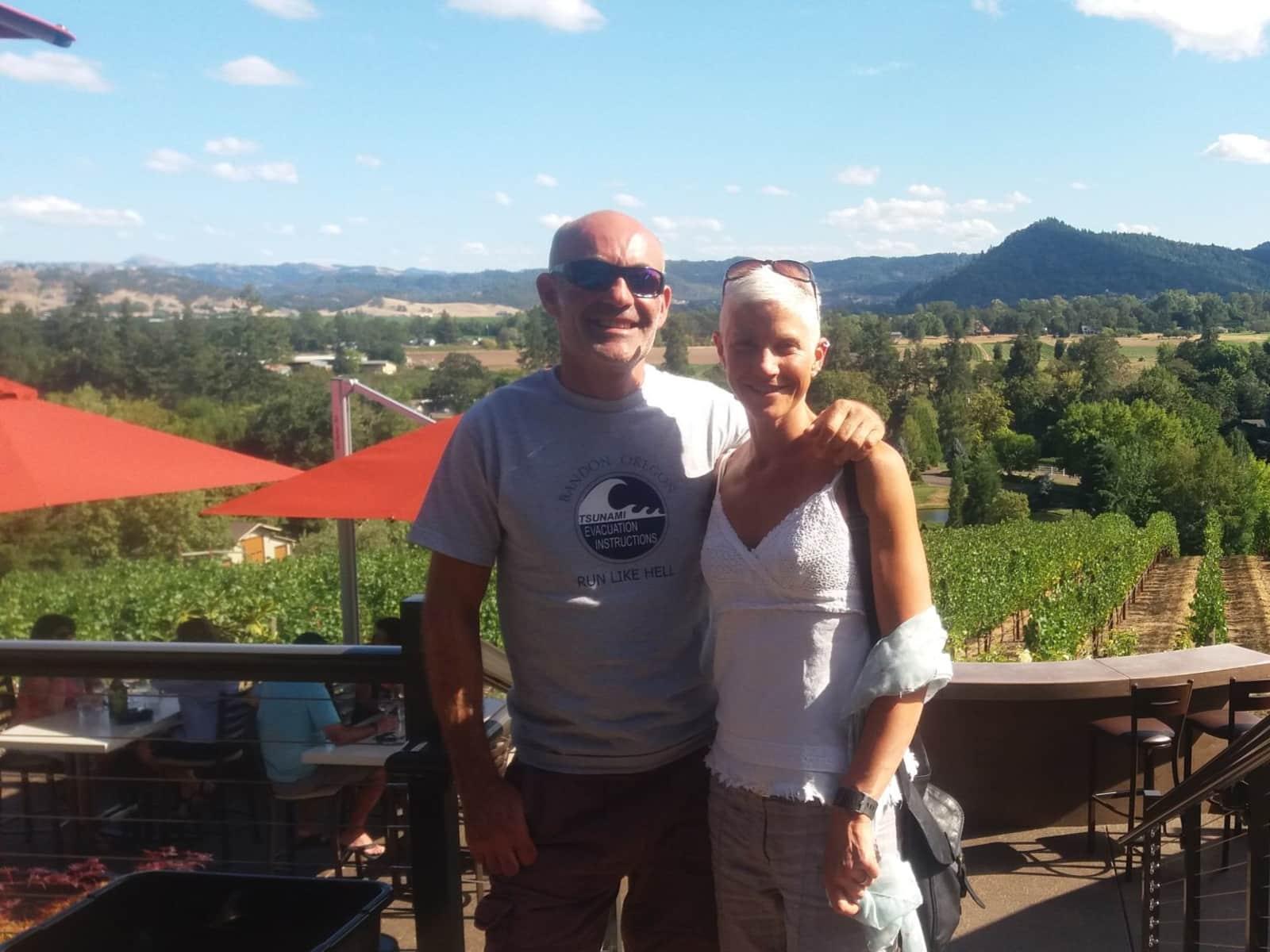 Leslie & Chris from Bedingham, United Kingdom