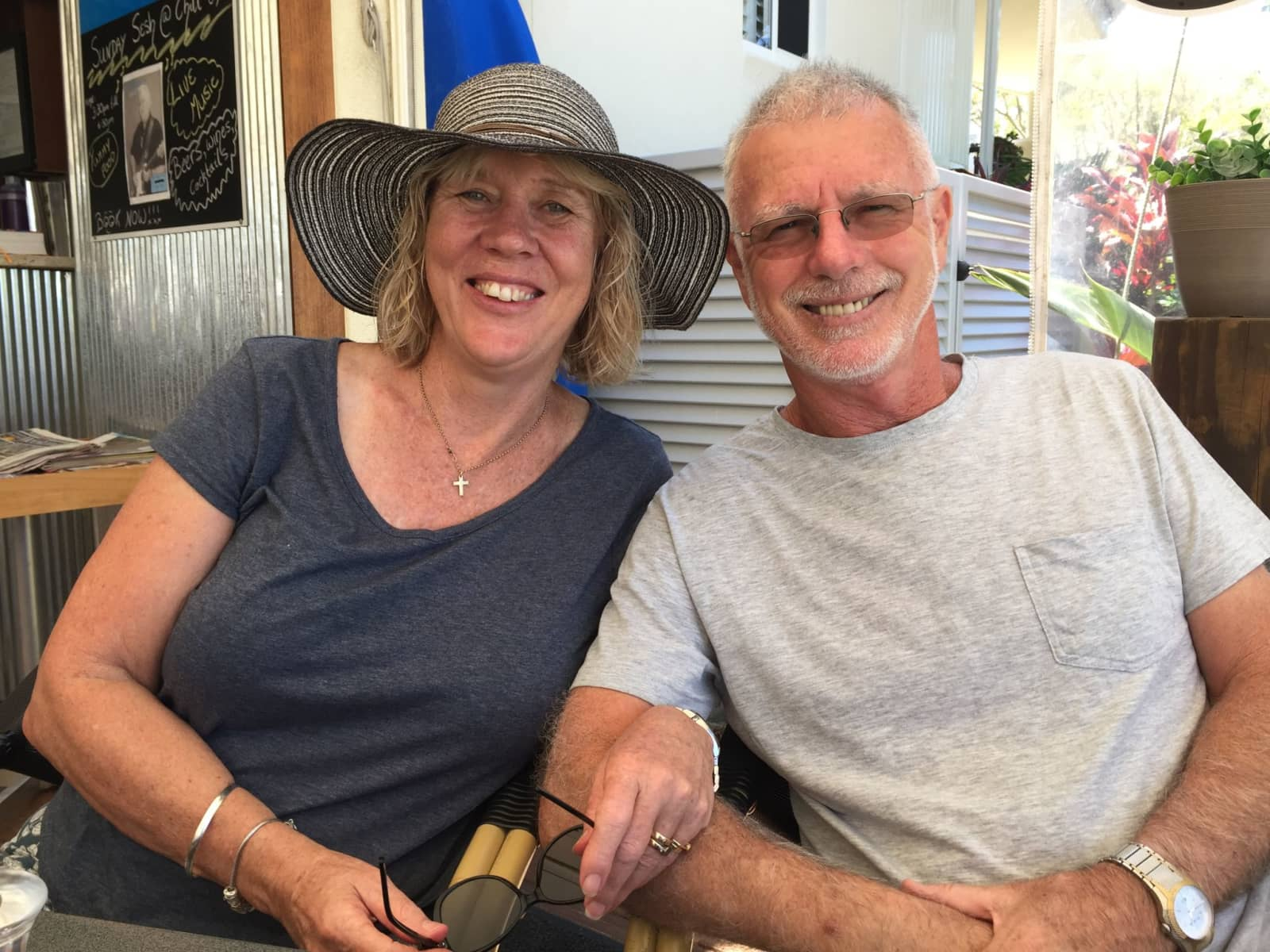 Gordon & Bernadette from Townsville, Queensland, Australia