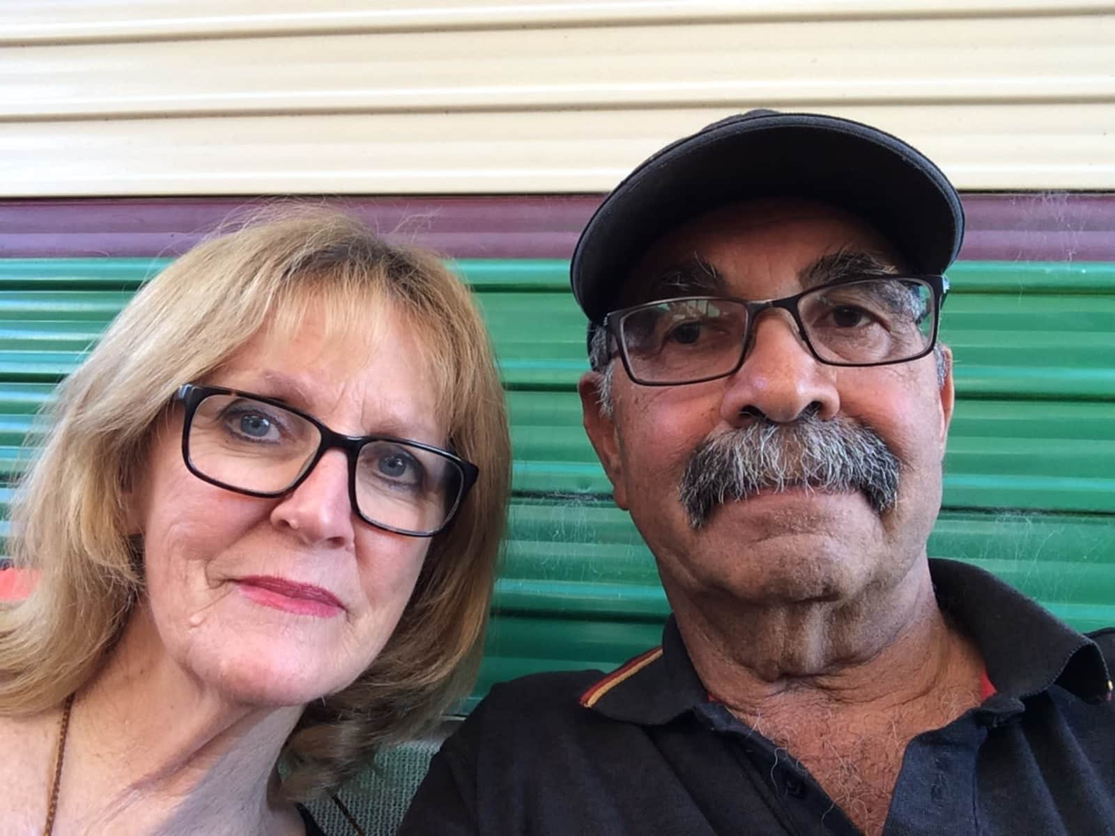 Myra & Irving from Perth Airport, Western Australia, Australia