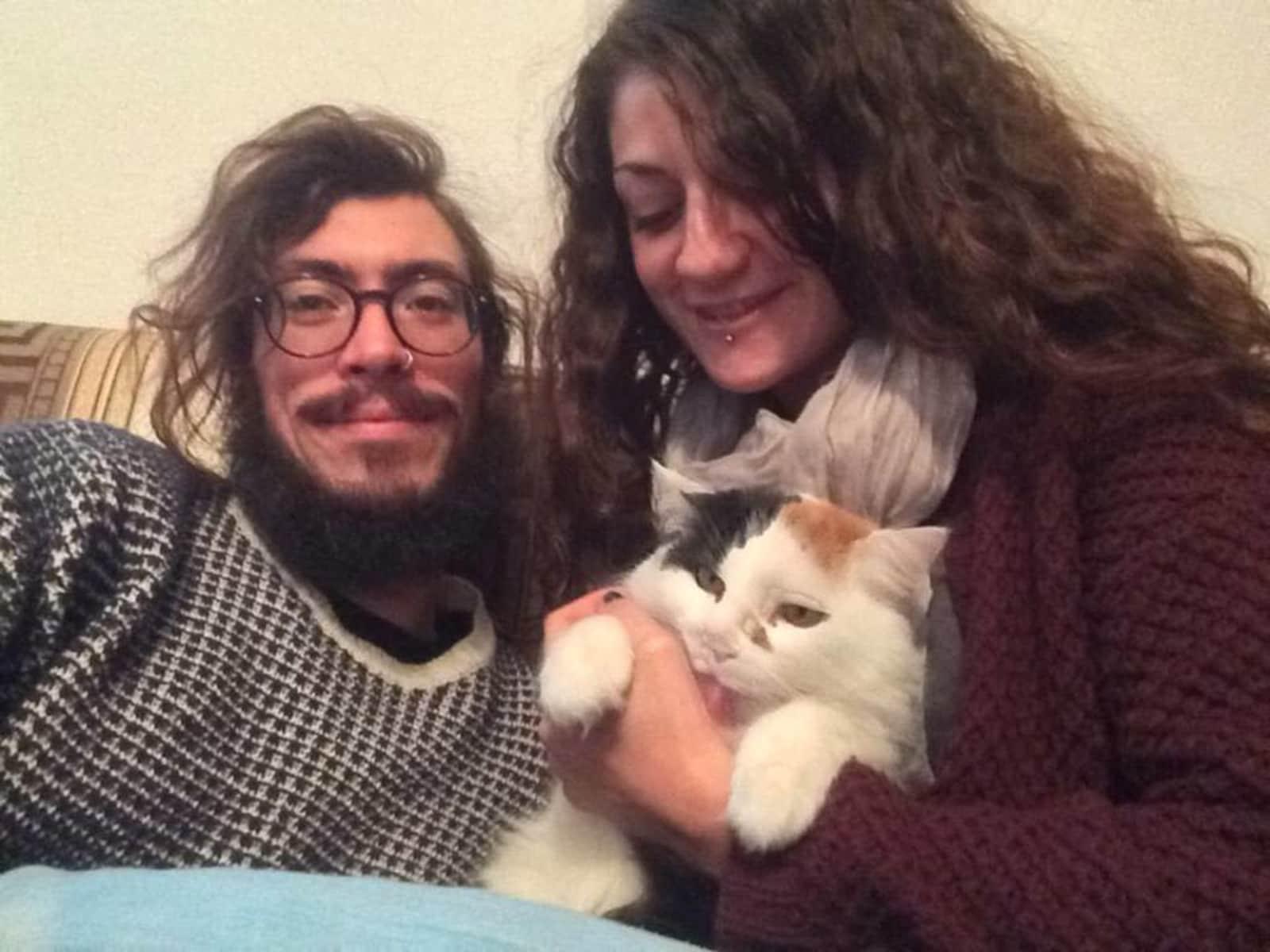Andrea & giulia & Giulia from Milano, Italy