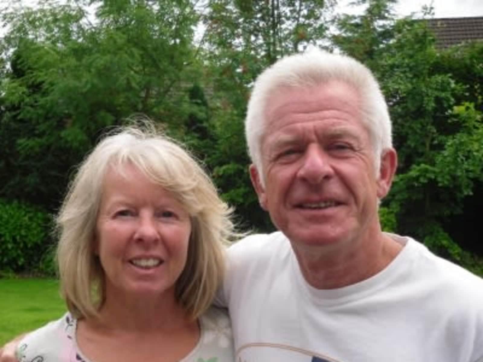 David & Elizabeth from Bolton, United Kingdom