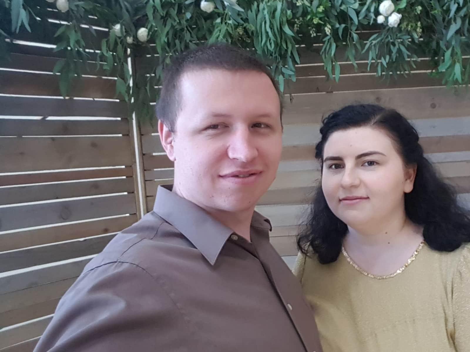 Ivan & Uliana from Sacramento, California, United States