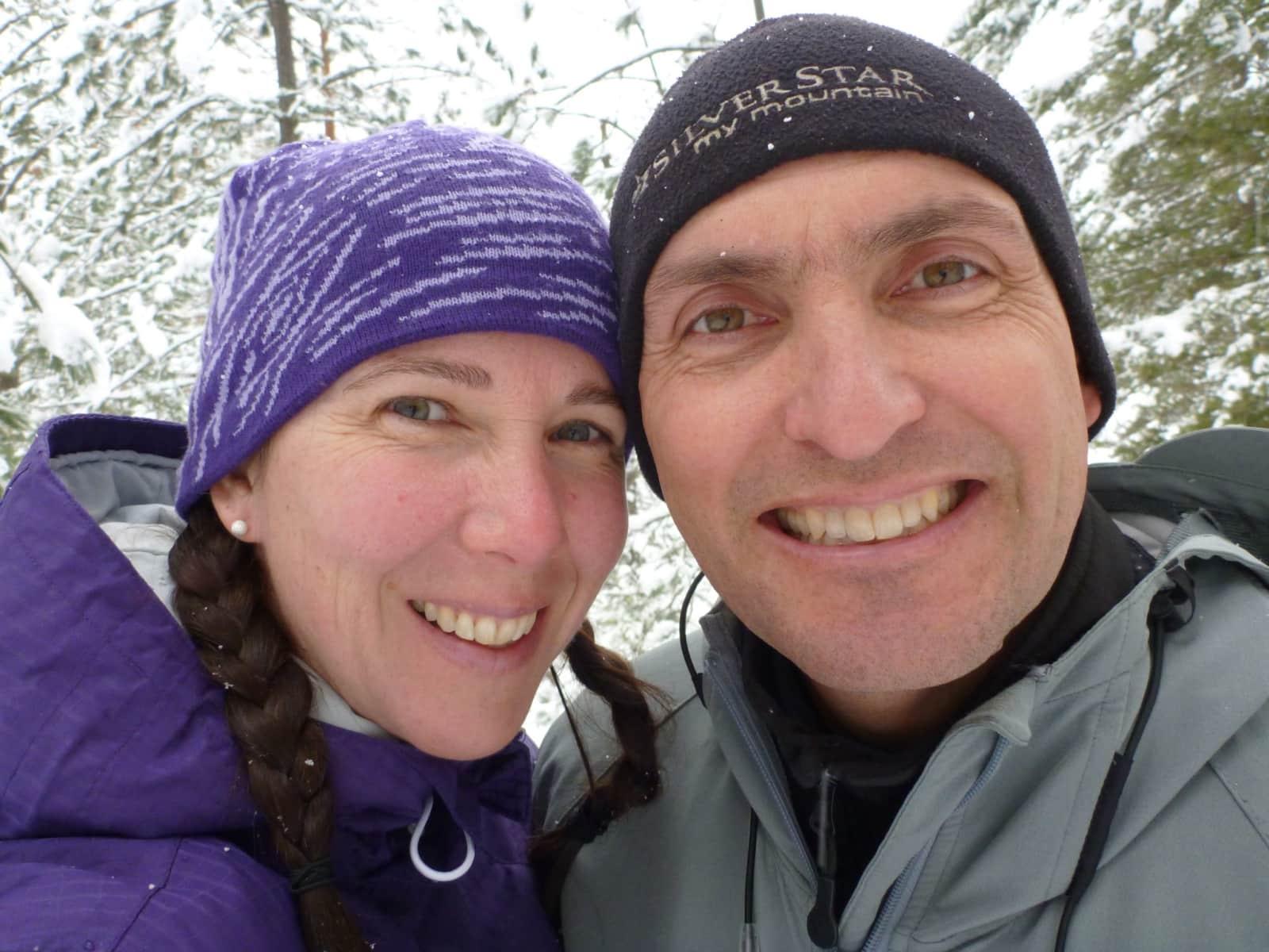 Helene & Tim from Vernon, British Columbia, Canada