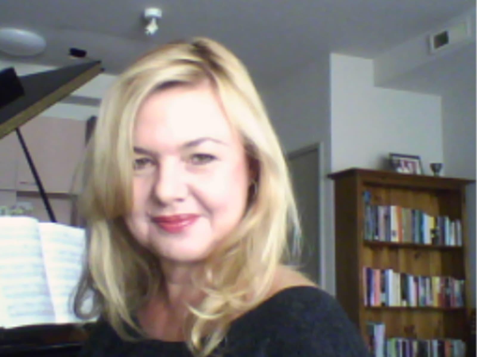 Caroline from Melbourne, Victoria, Australia