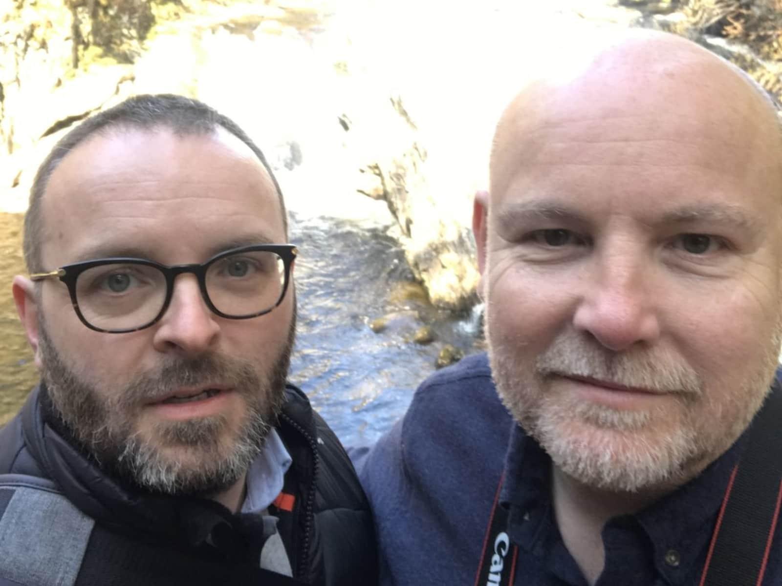 Robert & John from Glasgow, United Kingdom