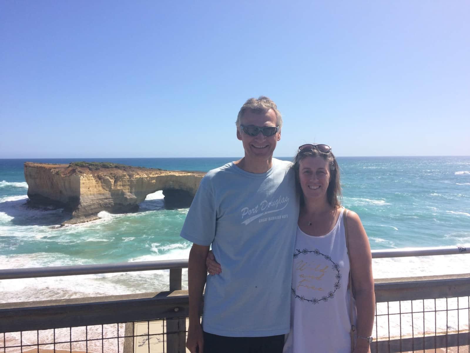 Kenneth & Debbie from Largs, United Kingdom