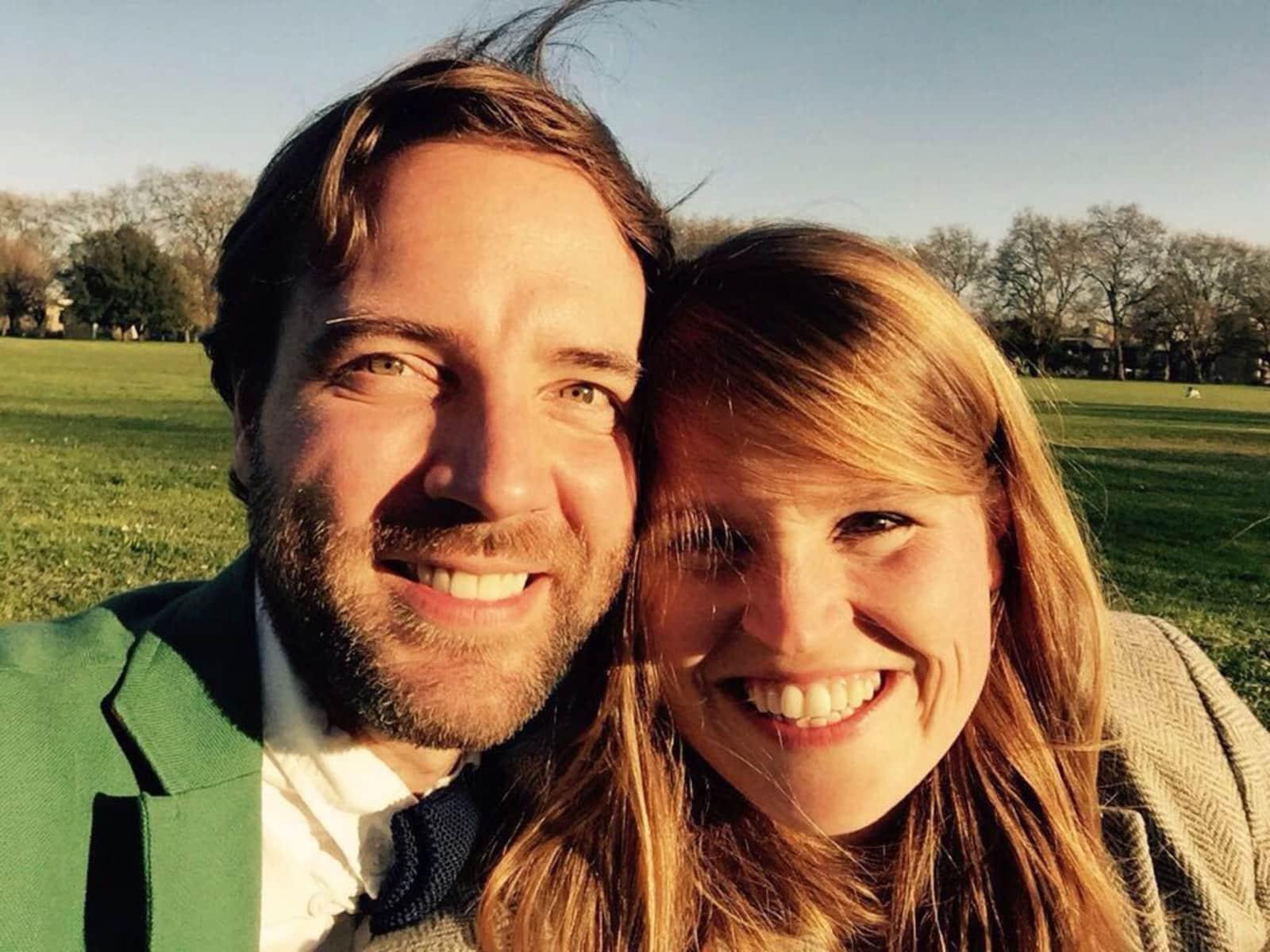 Adam & Fenella from London, United Kingdom