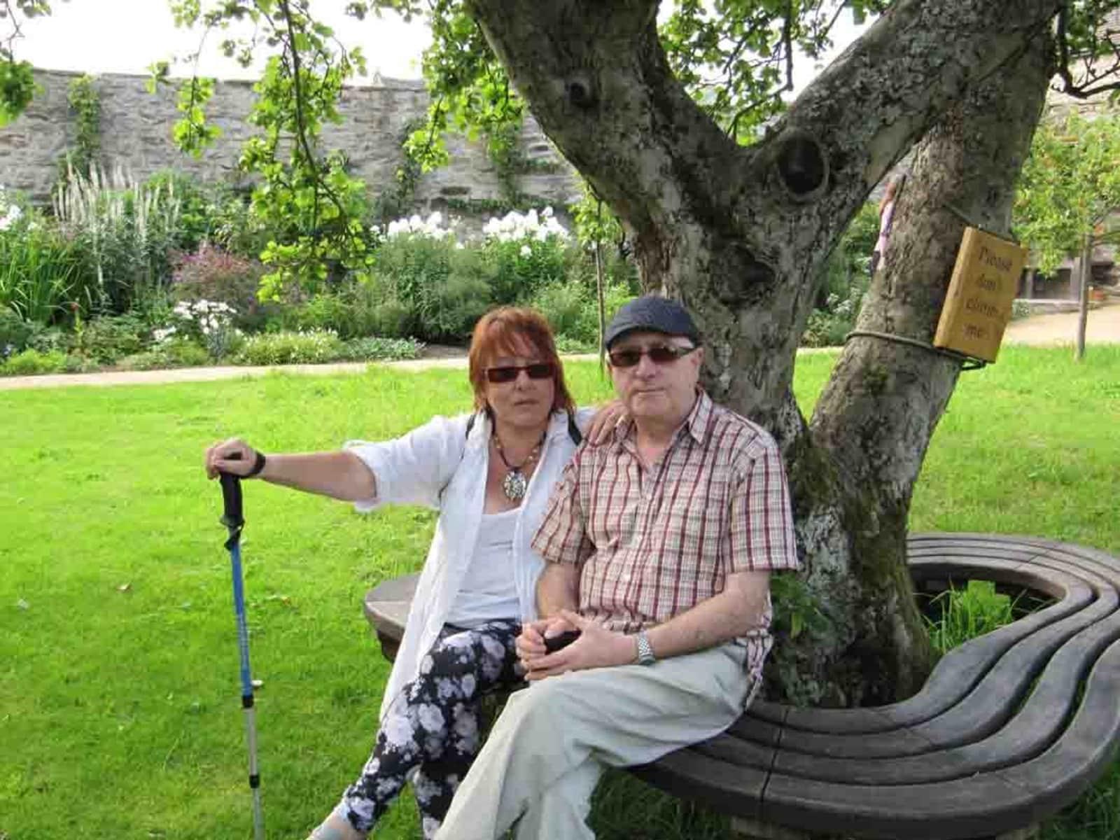 James & Diane from Darlington, United Kingdom