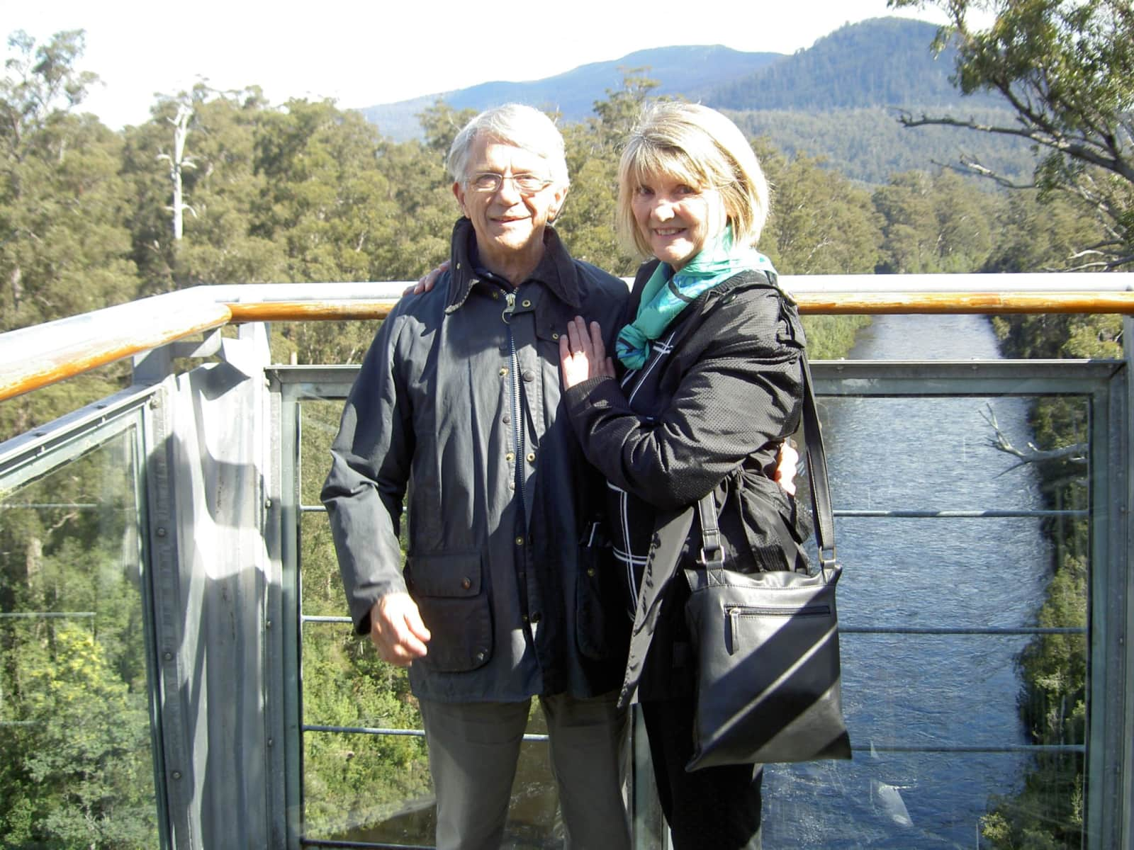 Lynda & Dj from Wellington, New Zealand