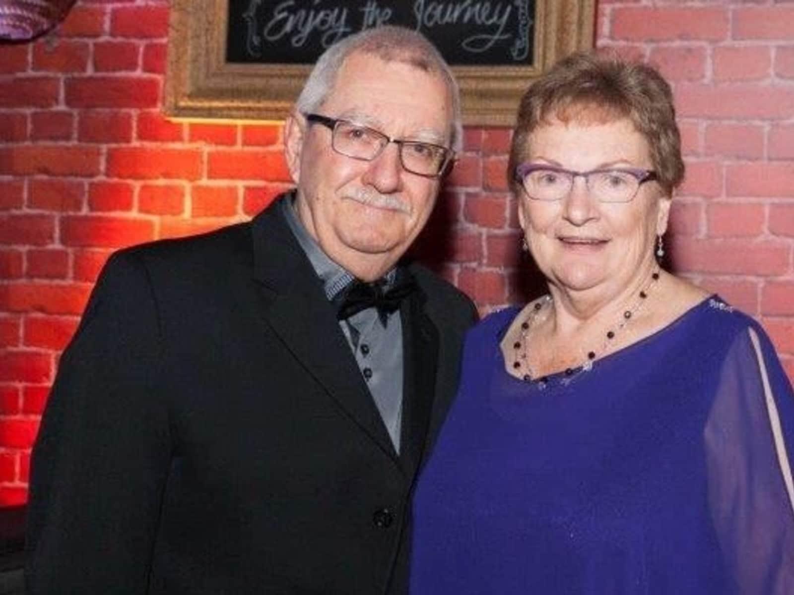 Margaret & Gregory from Dublin, Ireland